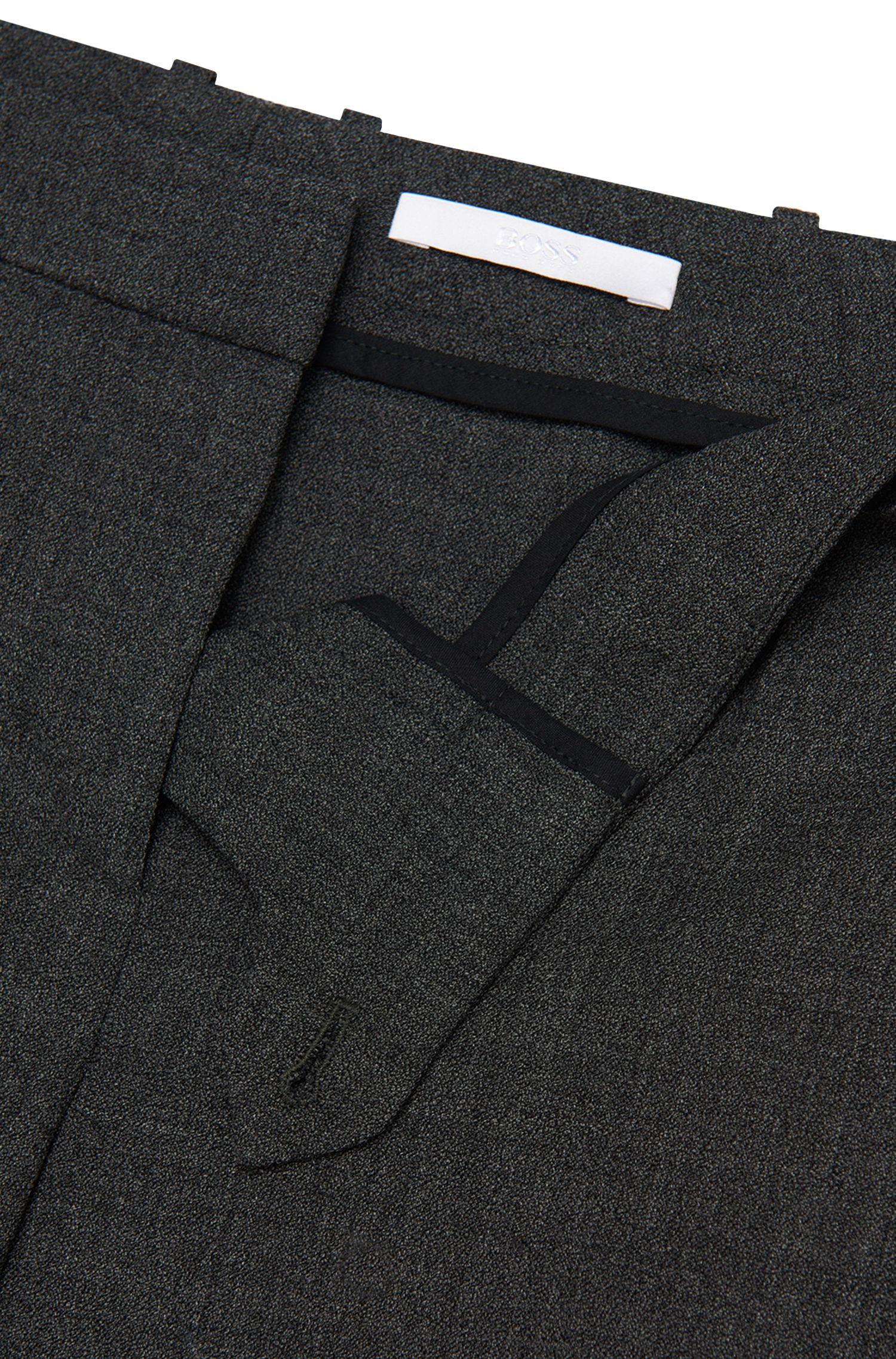 Slim-Fit Hose aus Stretch-Schurwolle: 'Tiluna1'