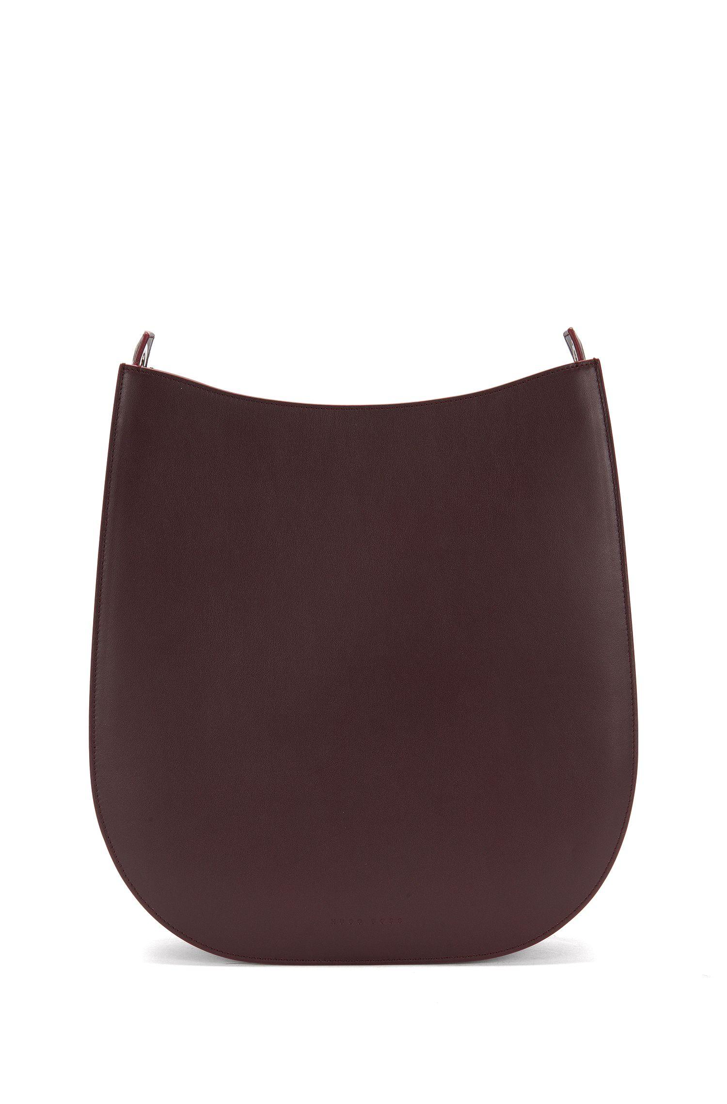 BOSS Bespoke hobo bag in leather