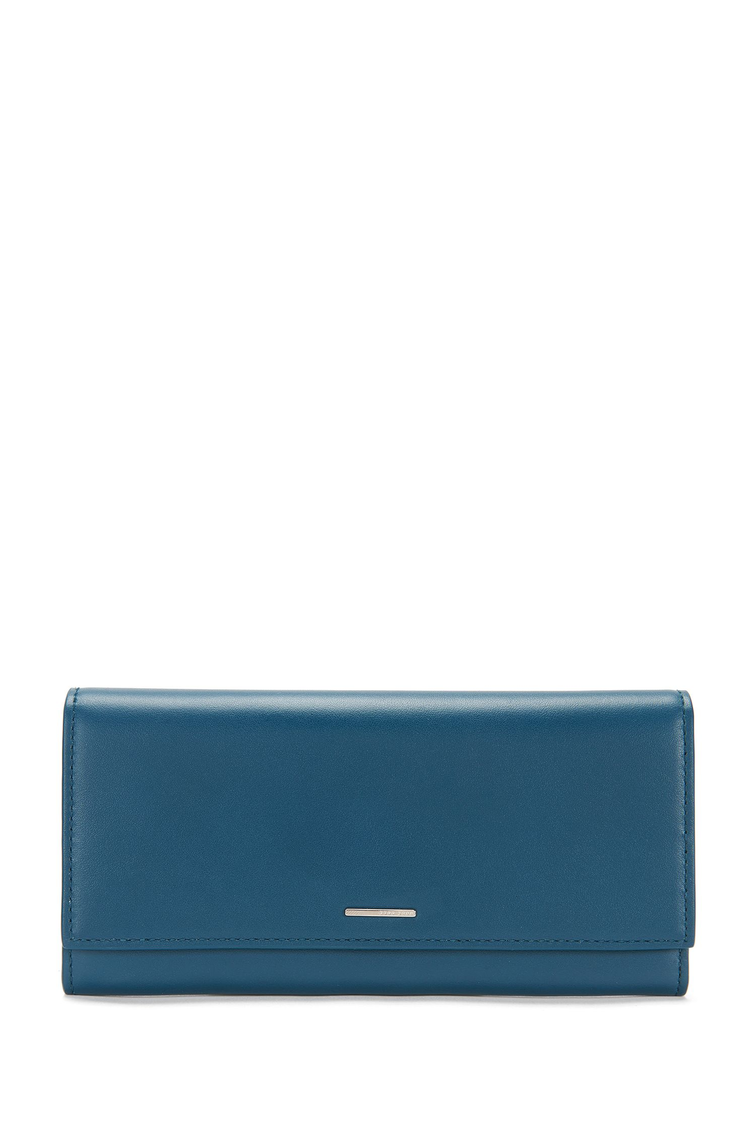Leather wallet in continental format: 'Staple Continental-N'