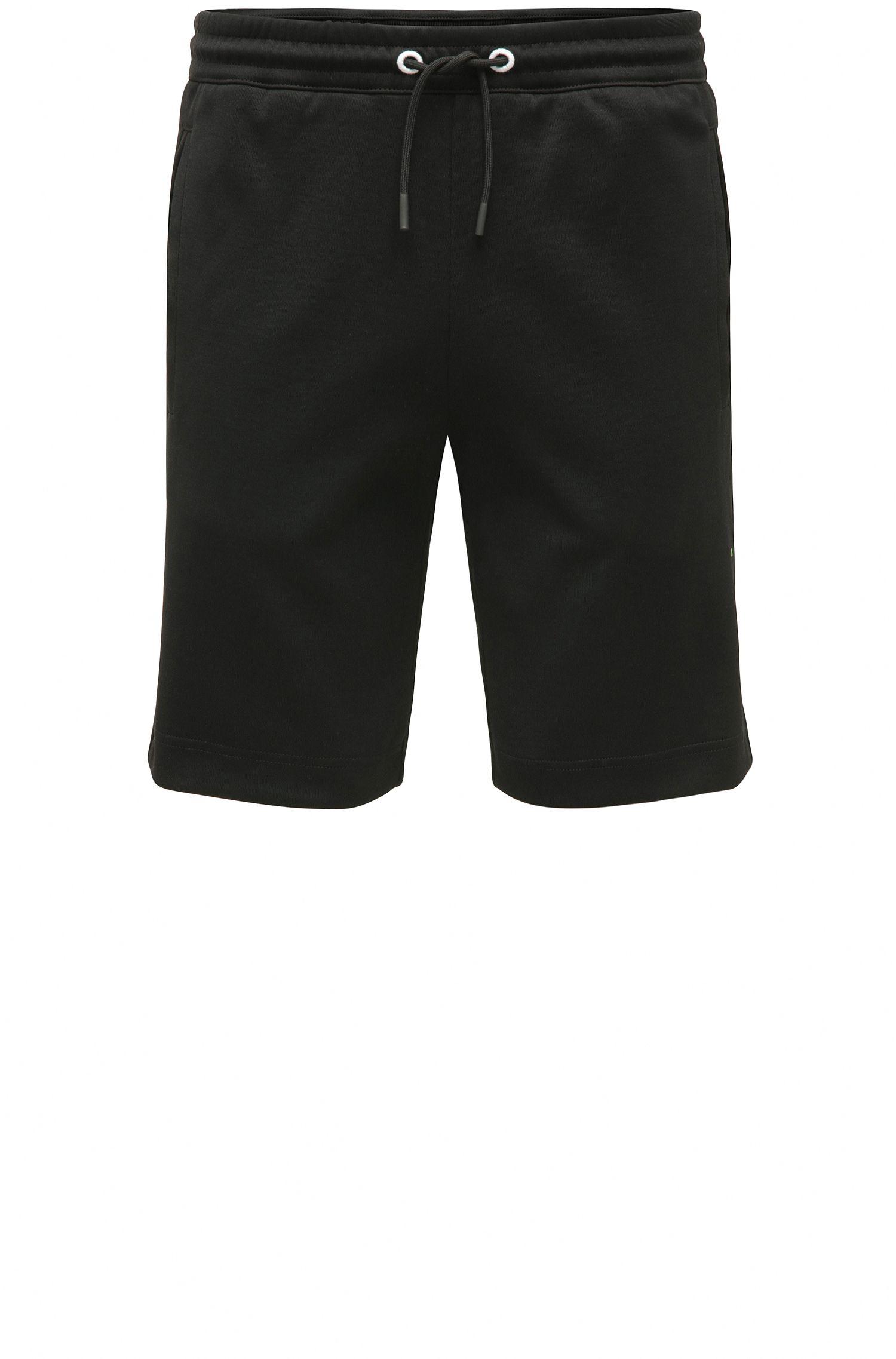Regular-fit sweat shorts in cotton blend: 'Headlo'