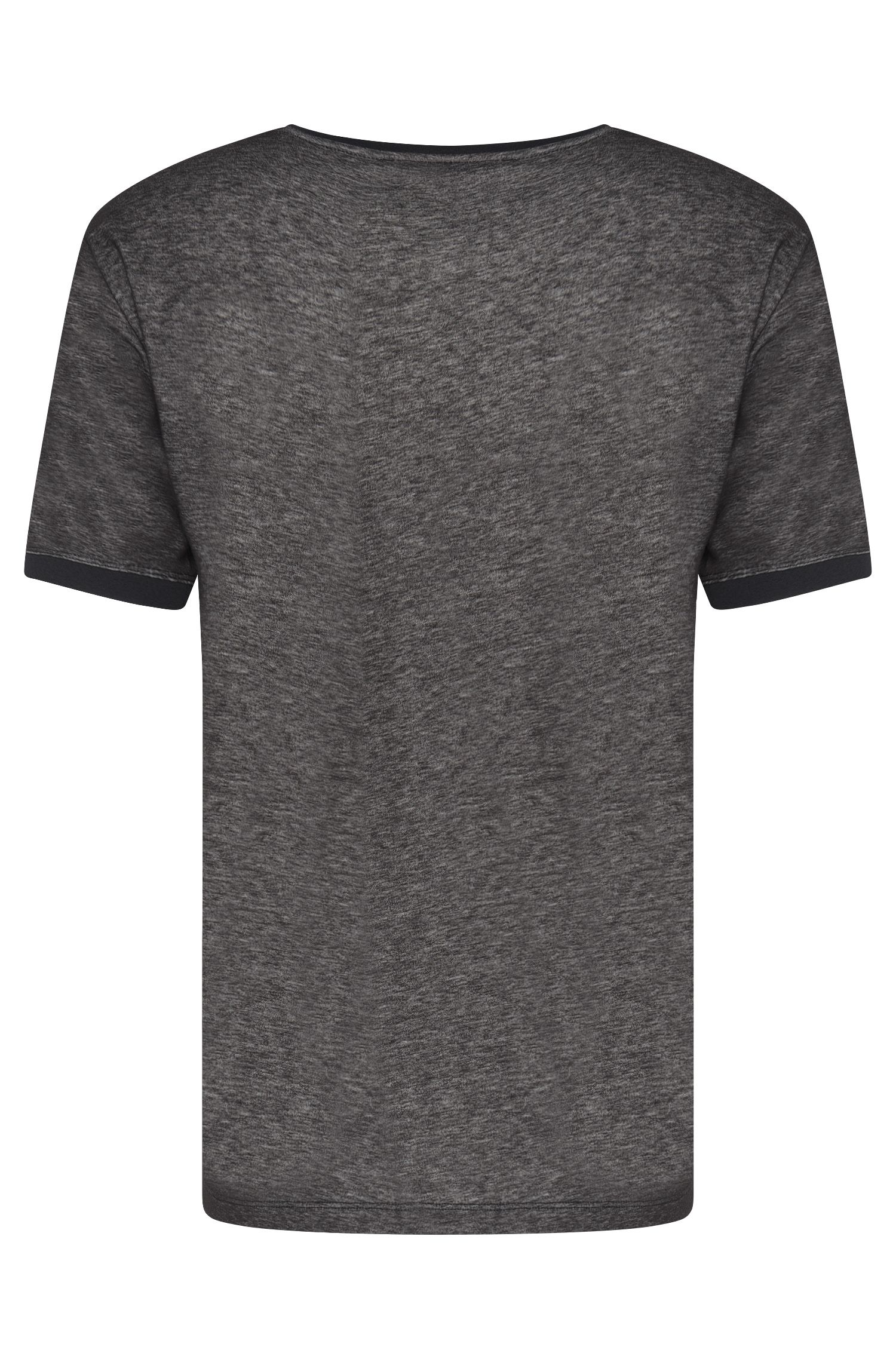 Meliertes Loose-Fit T-Shirt aus Baumwoll-Mix: 'Dircus'