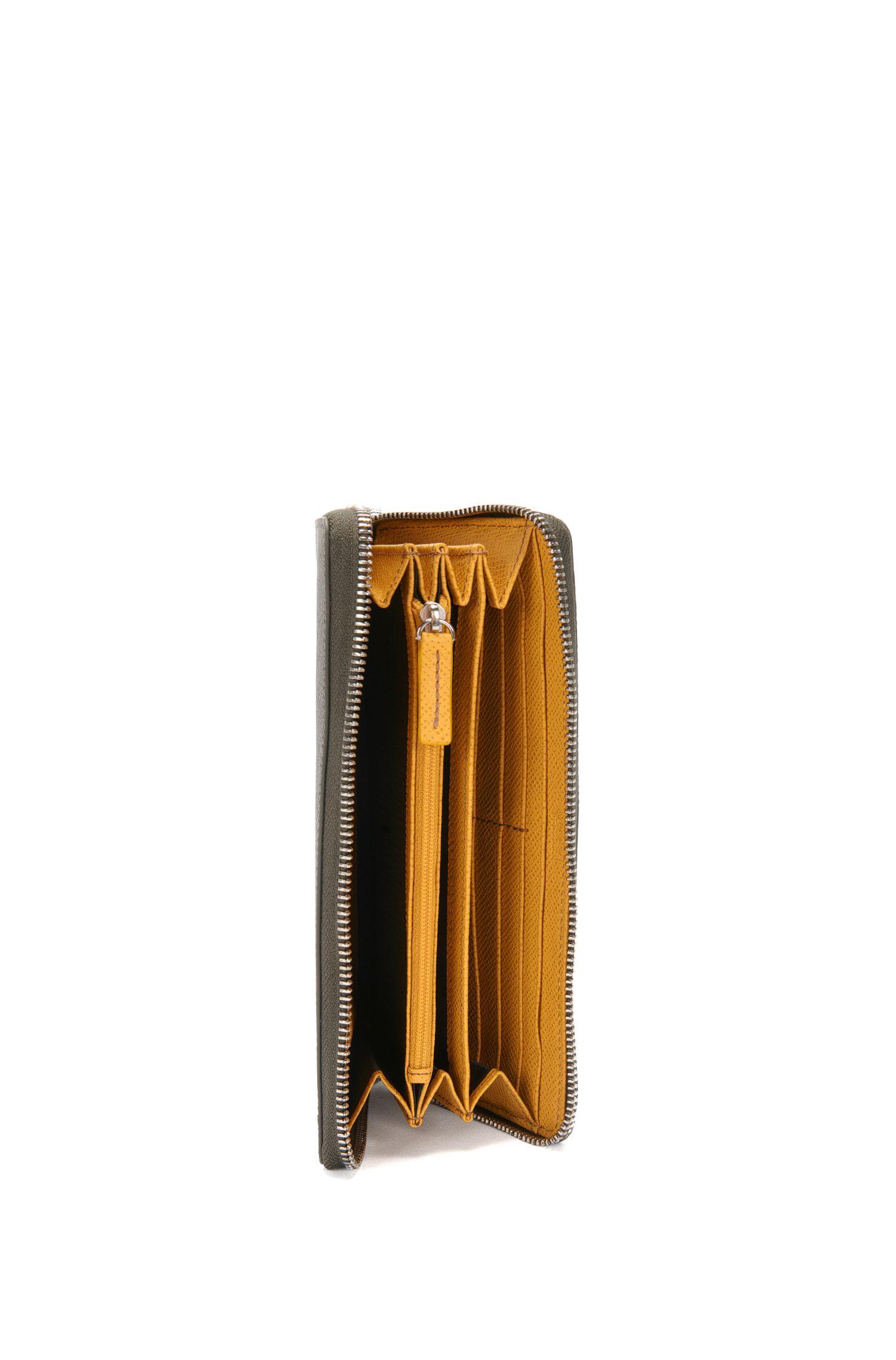Geldbörse aus Leder im Zip-Around-Design: 'Signature_S Z trav B'