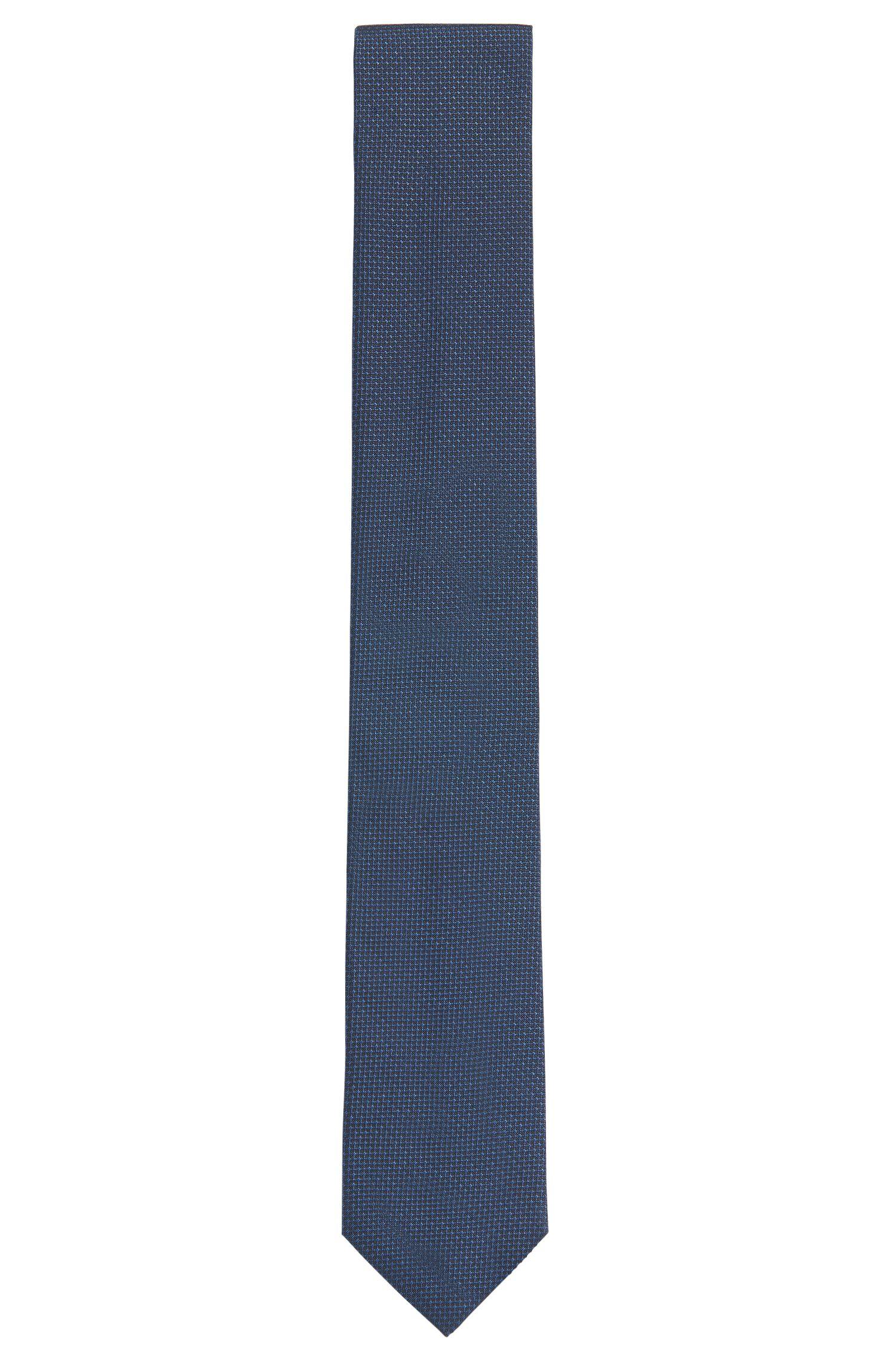 Fein strukturierte Krawatte aus Seide: 'Tie cm 6'