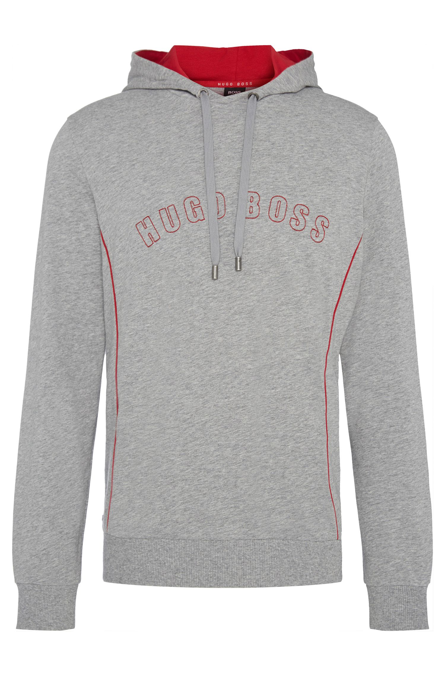 Regular-Fit Kapuzen-Sweatshirt aus Baumwolle: 'Hooded Sweatshirt'