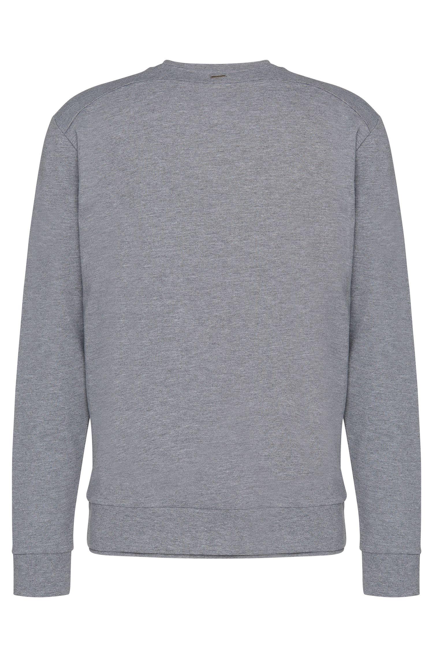 Loose-fit sweatshirt van katoen met frontprint: 'Dardust'