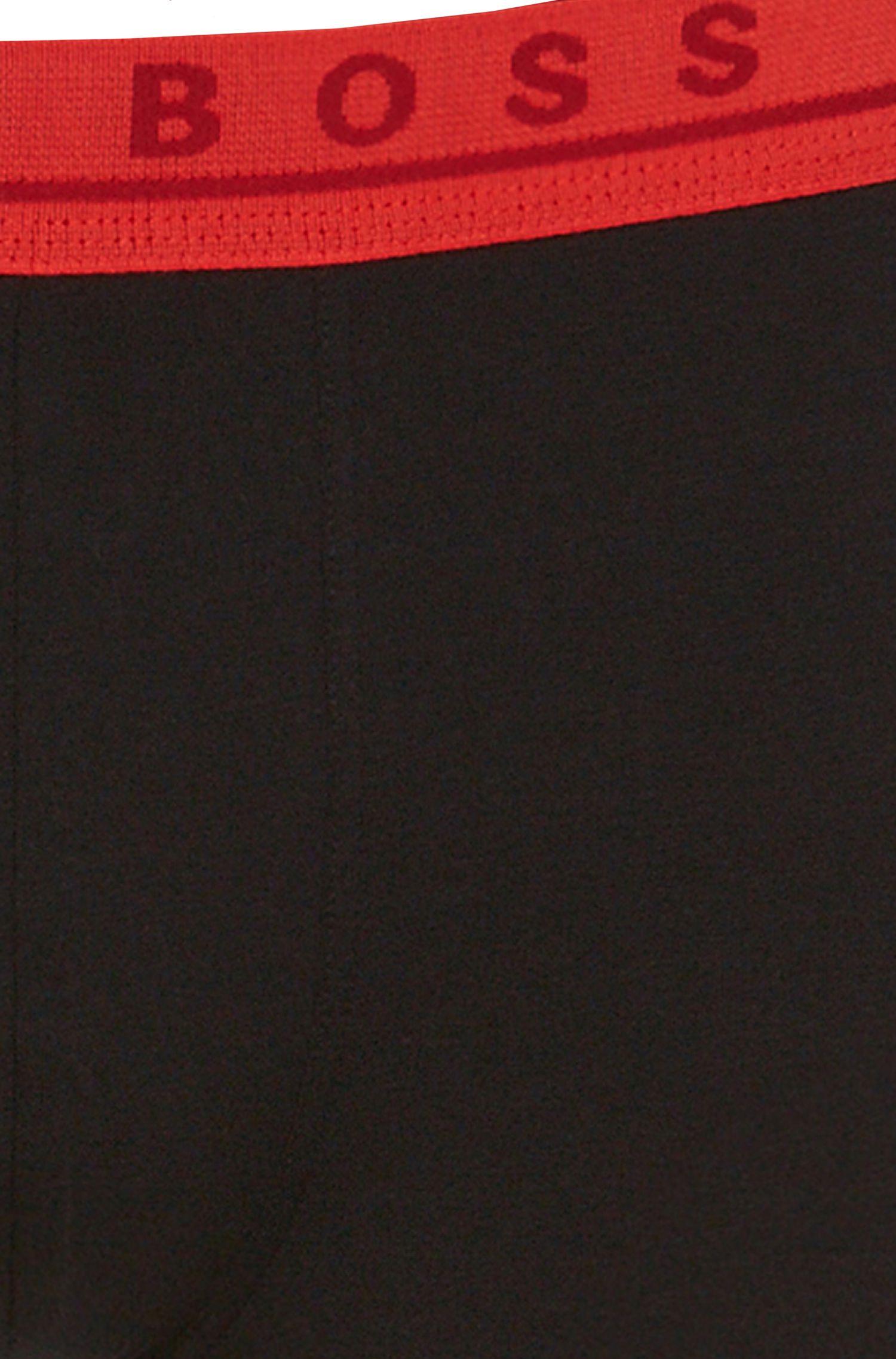 Set van 3 boxershorts van stretchkatoen: 'Boxer 3P FN Solid'