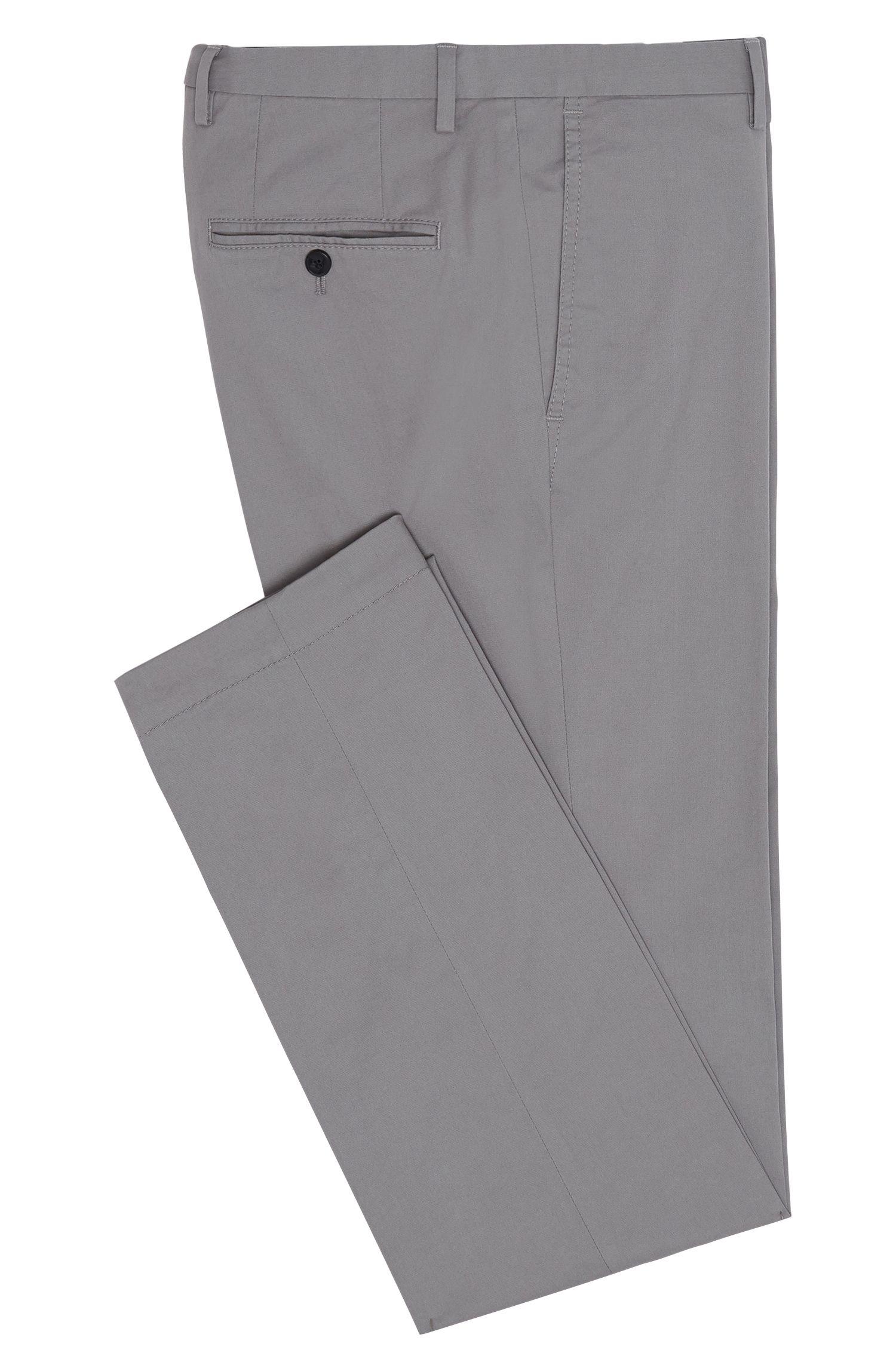 Slim-fit chino van stretchkatoen: 'C-Stanino1-W'