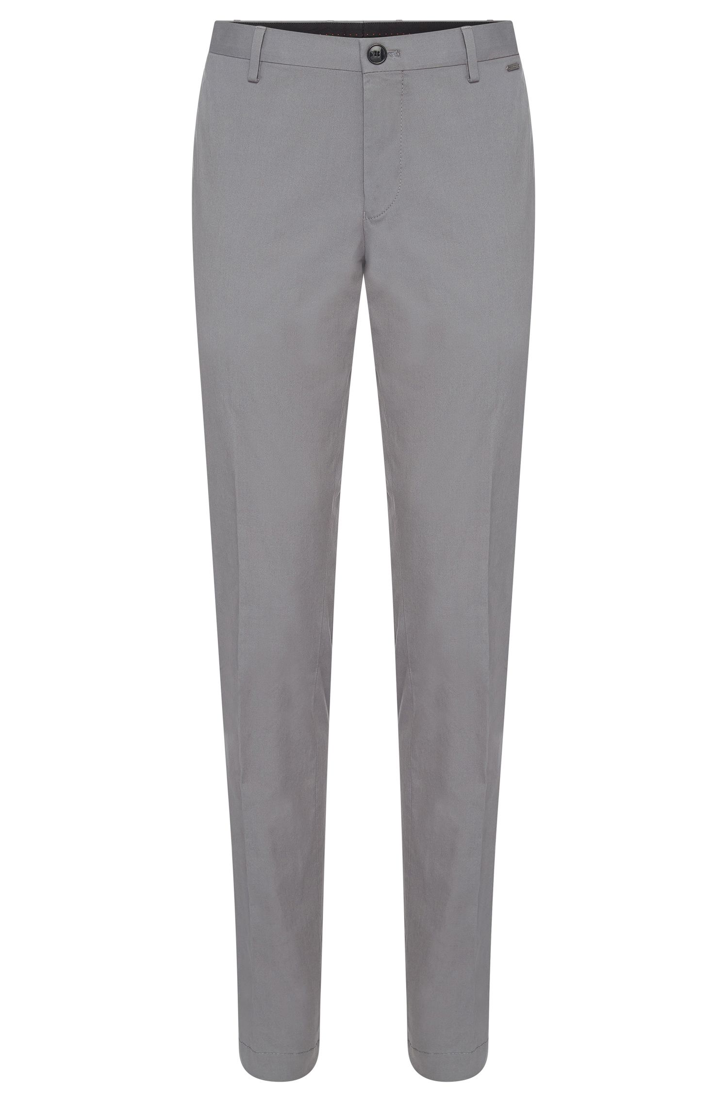 Chino Slim Fit en coton stretch : « C-Stanino1-W »