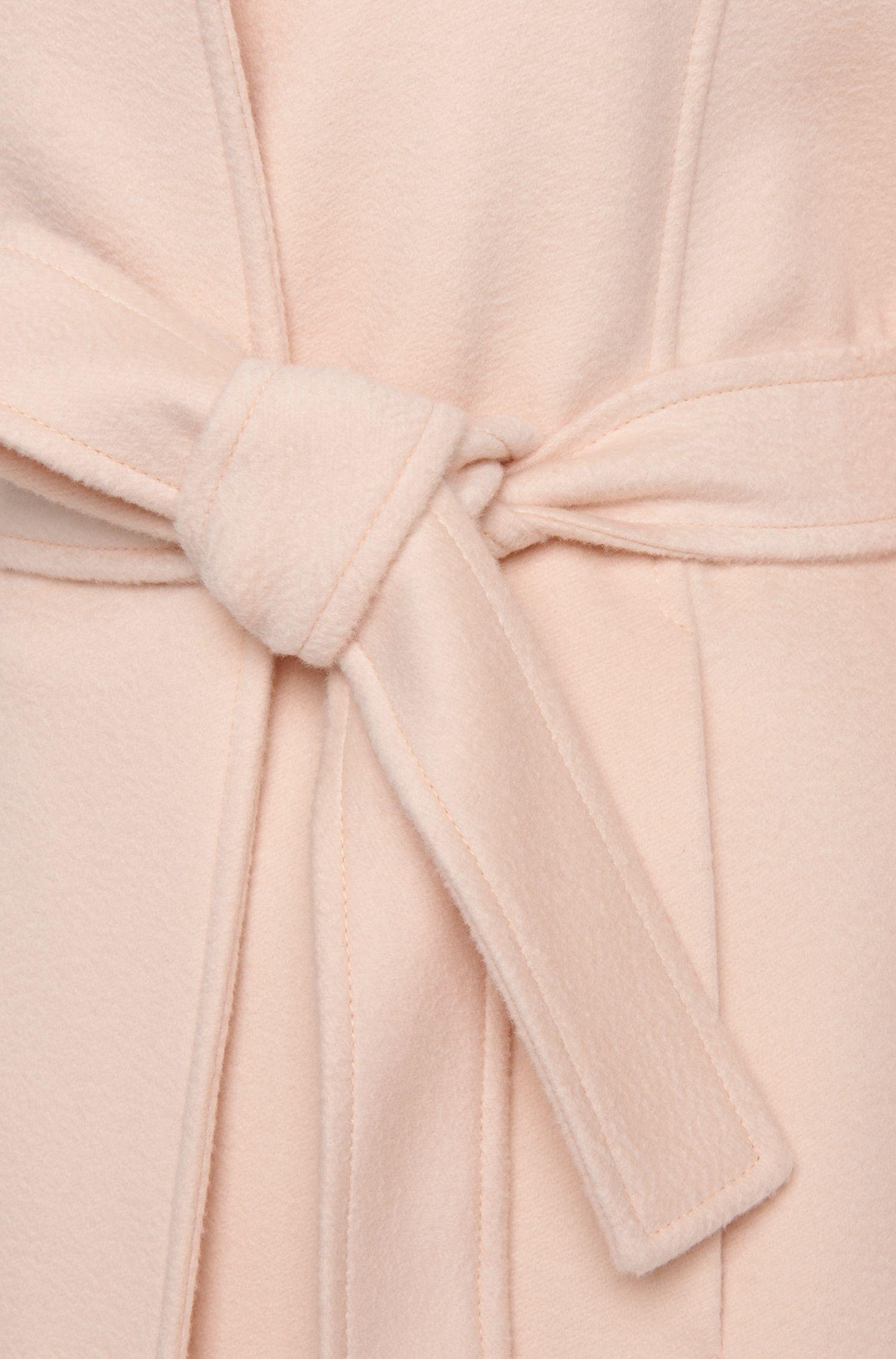 Mantel aus reiner Schurwolle mit Bindegürtel: 'Canika1'
