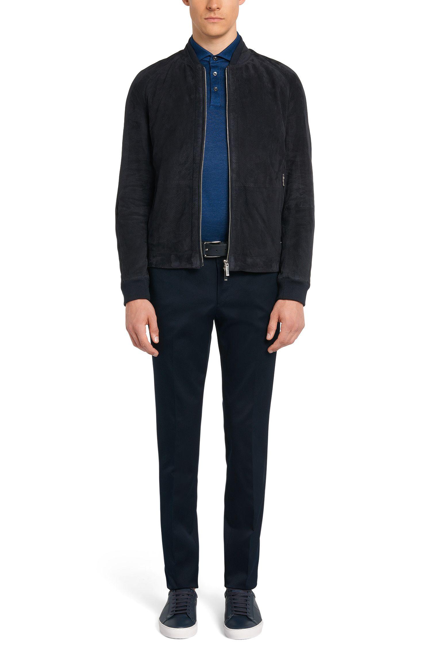 Pantalon Slim Fit Tailored en coton: «T-Belvit»