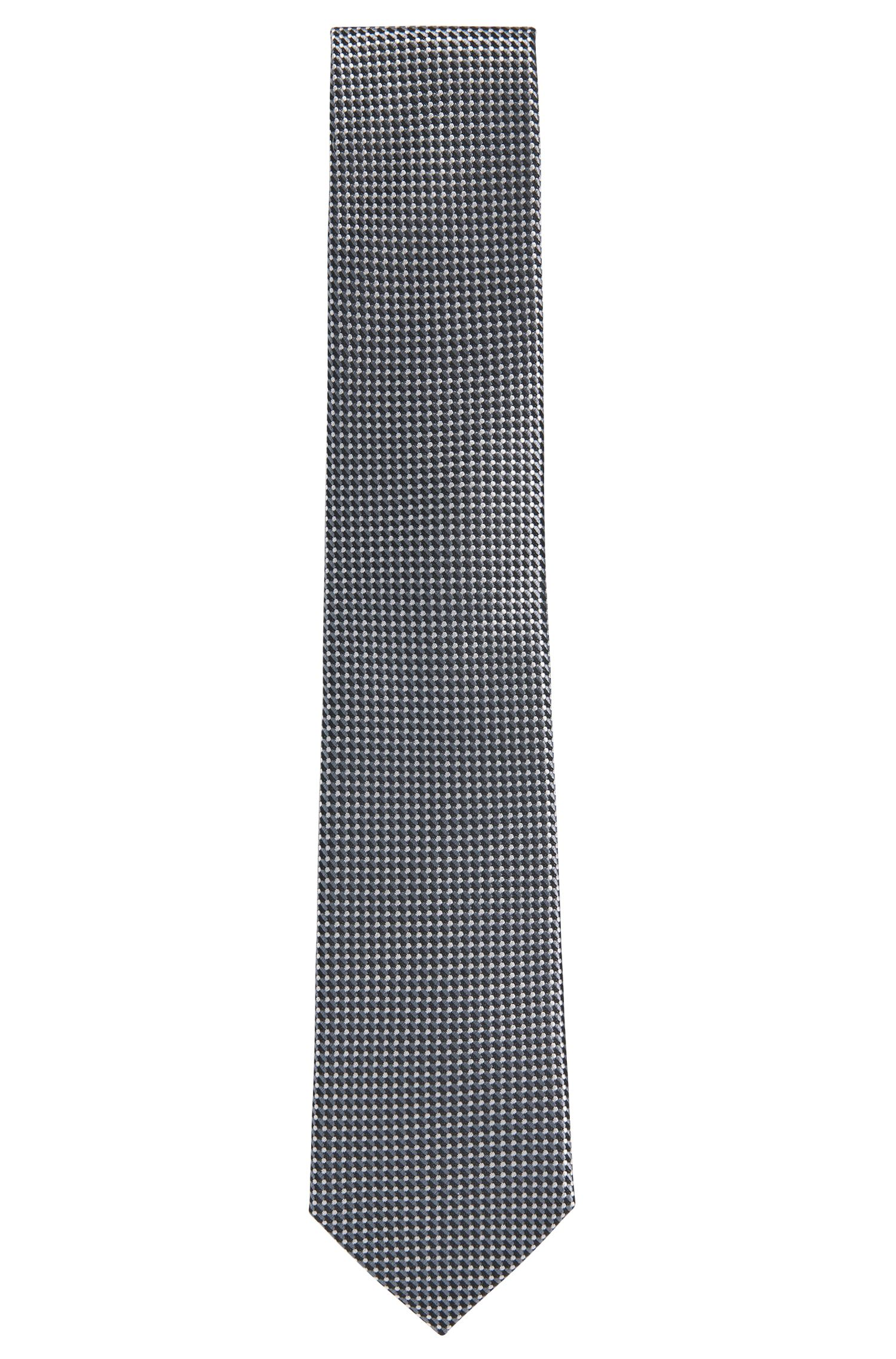 Patterned silk tie: 'Tie 7.5 cm'
