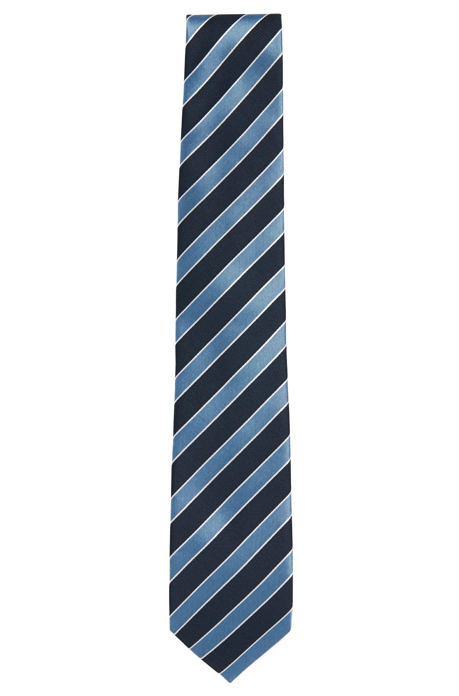 Cravatta in seta a disegni: 'Tie 7,5cm'