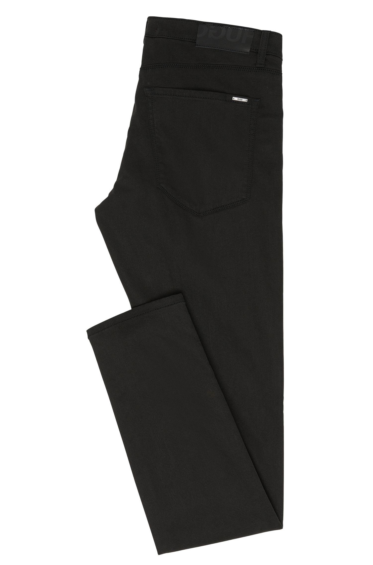 Skinny-Fit Jeans aus elastischem Material-Mix mit Baumwolle: 'HUGO 734'