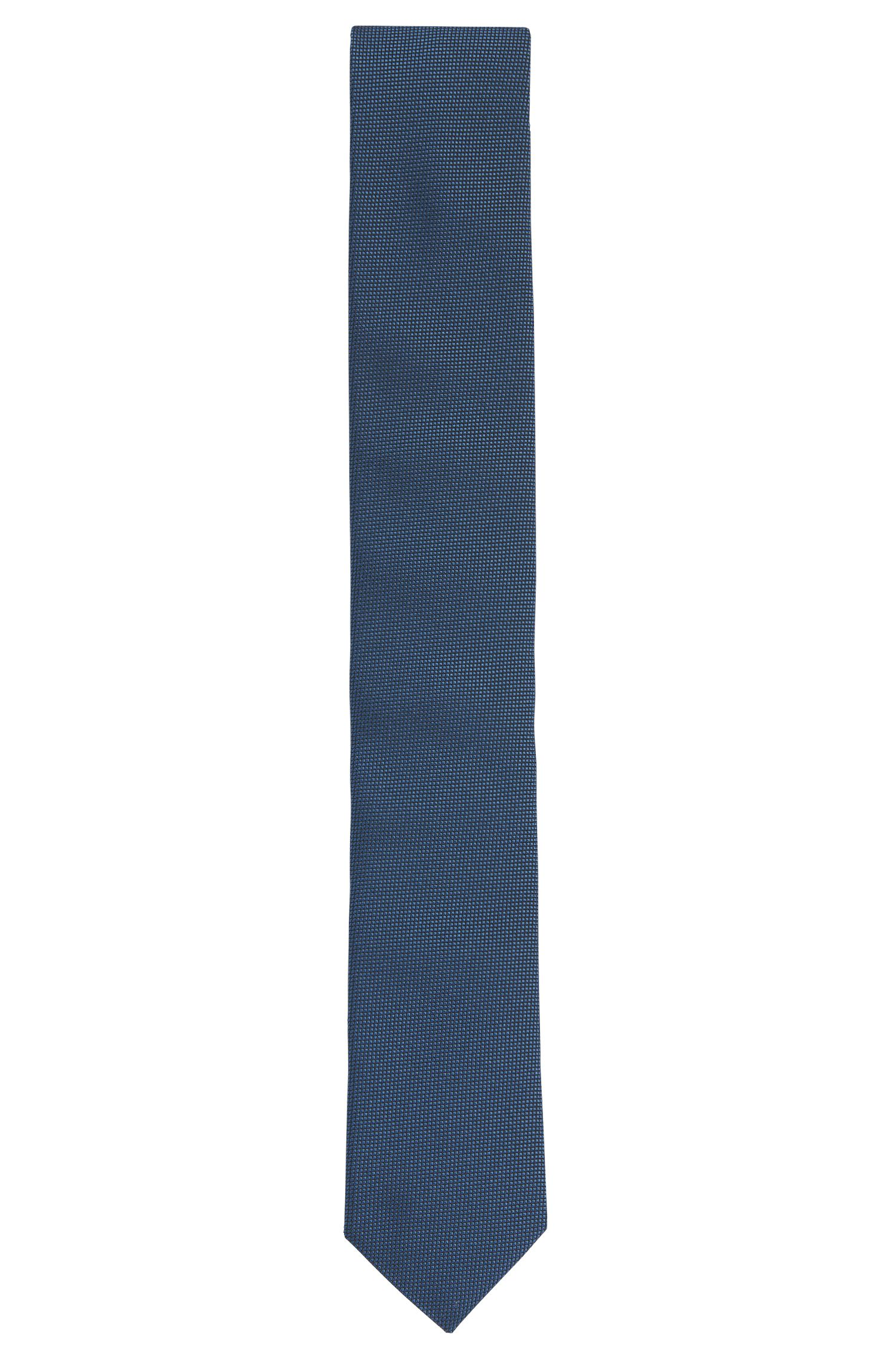Finely textured silk tie: 'Tie 6 cm'