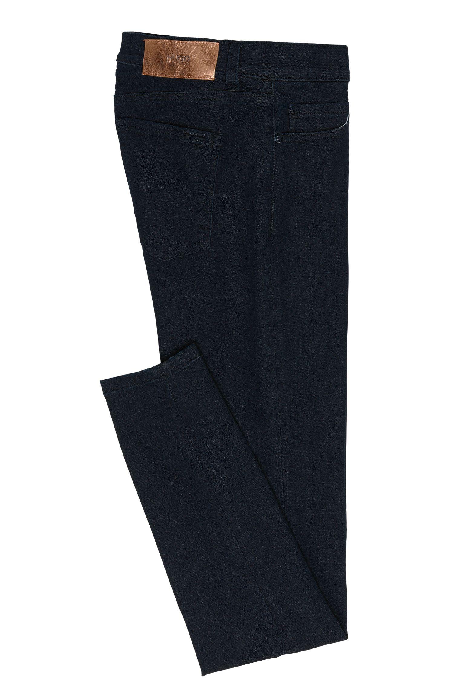 High Waist-Fit Jeans aus Baumwoll-Mix in Cropped-Länge: 'Gerna Highwaist Skinny Leg'