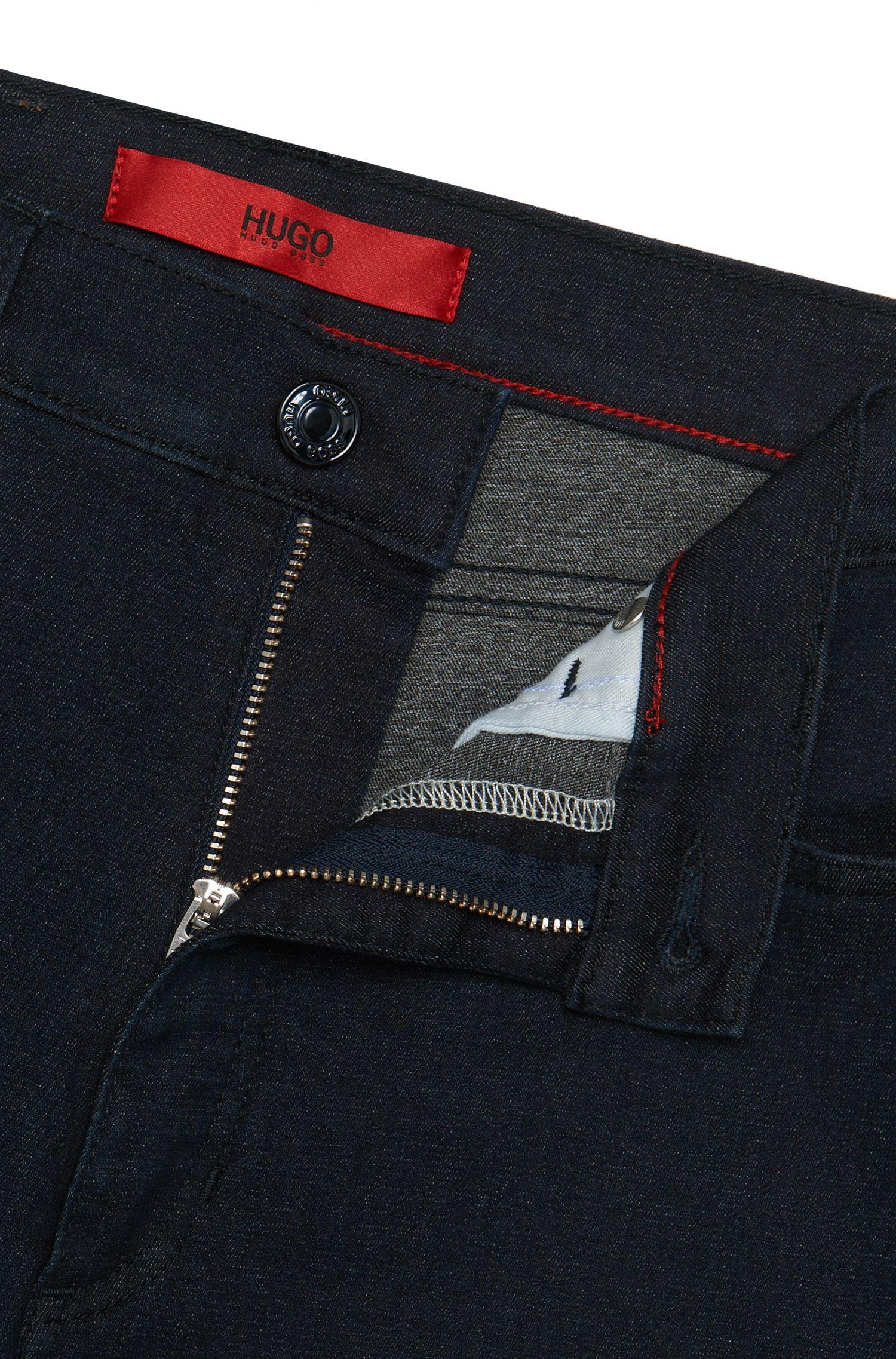 Jeans en coton mélangé à taille haute, de longueur raccourcie: «Gerna Highwaist Skinny Leg»