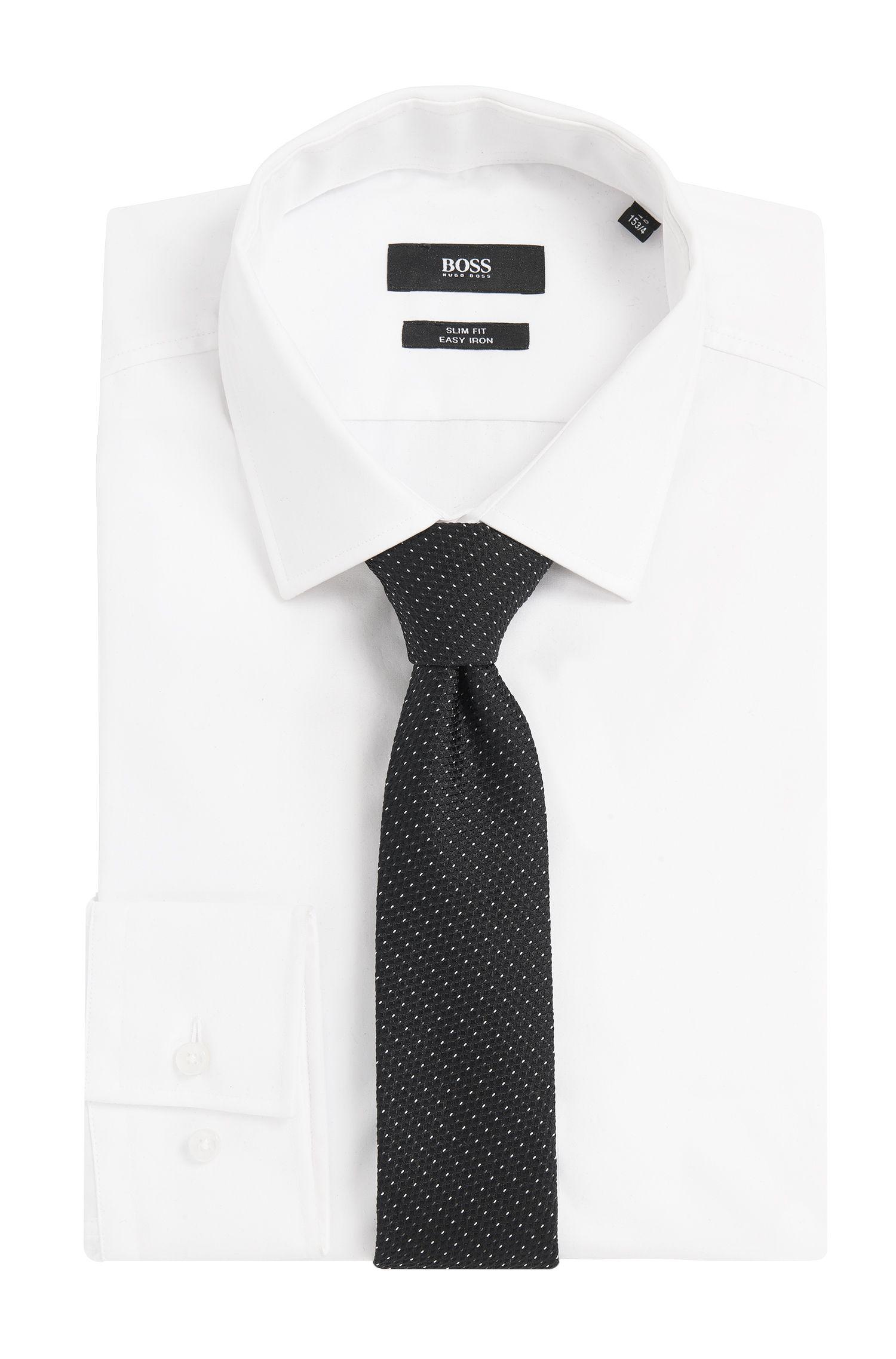 Strukturierte Krawatte aus Seide: 'Tie 6 cm'