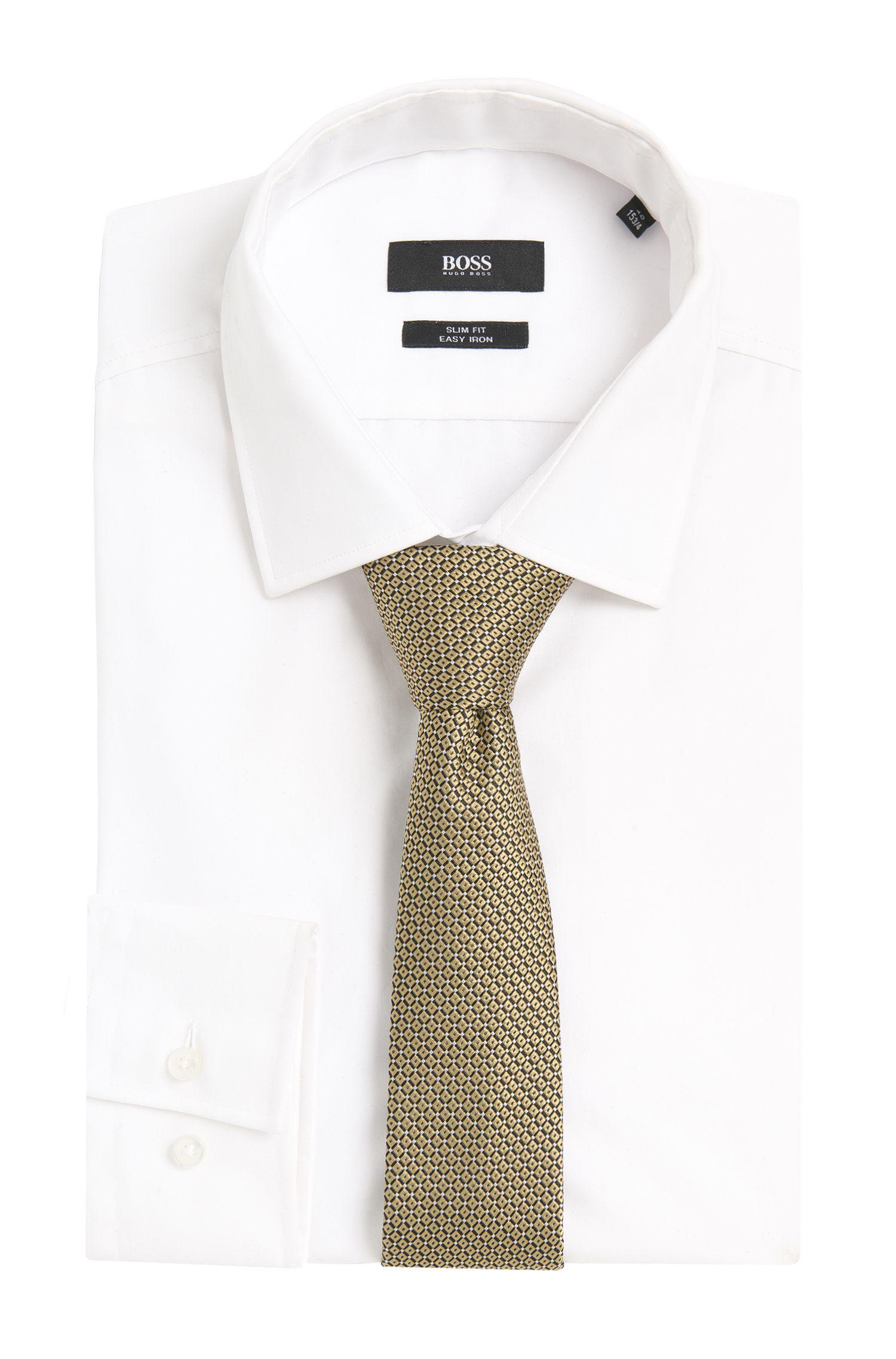 Cravate en soie à motif: «Tie6cm»