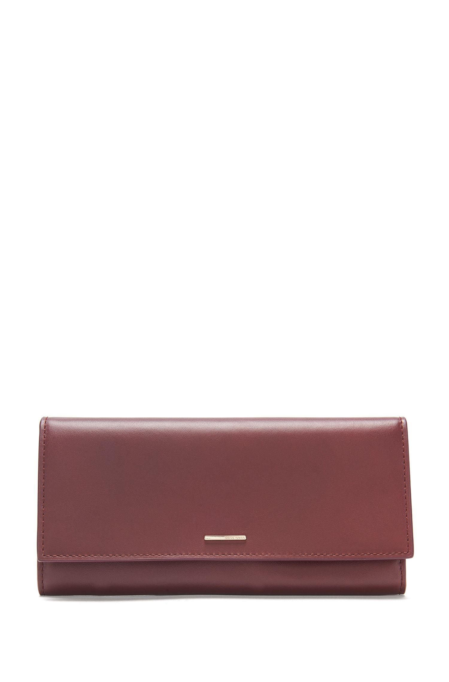 Leather wallet in continental format: 'Staple Continental-M'