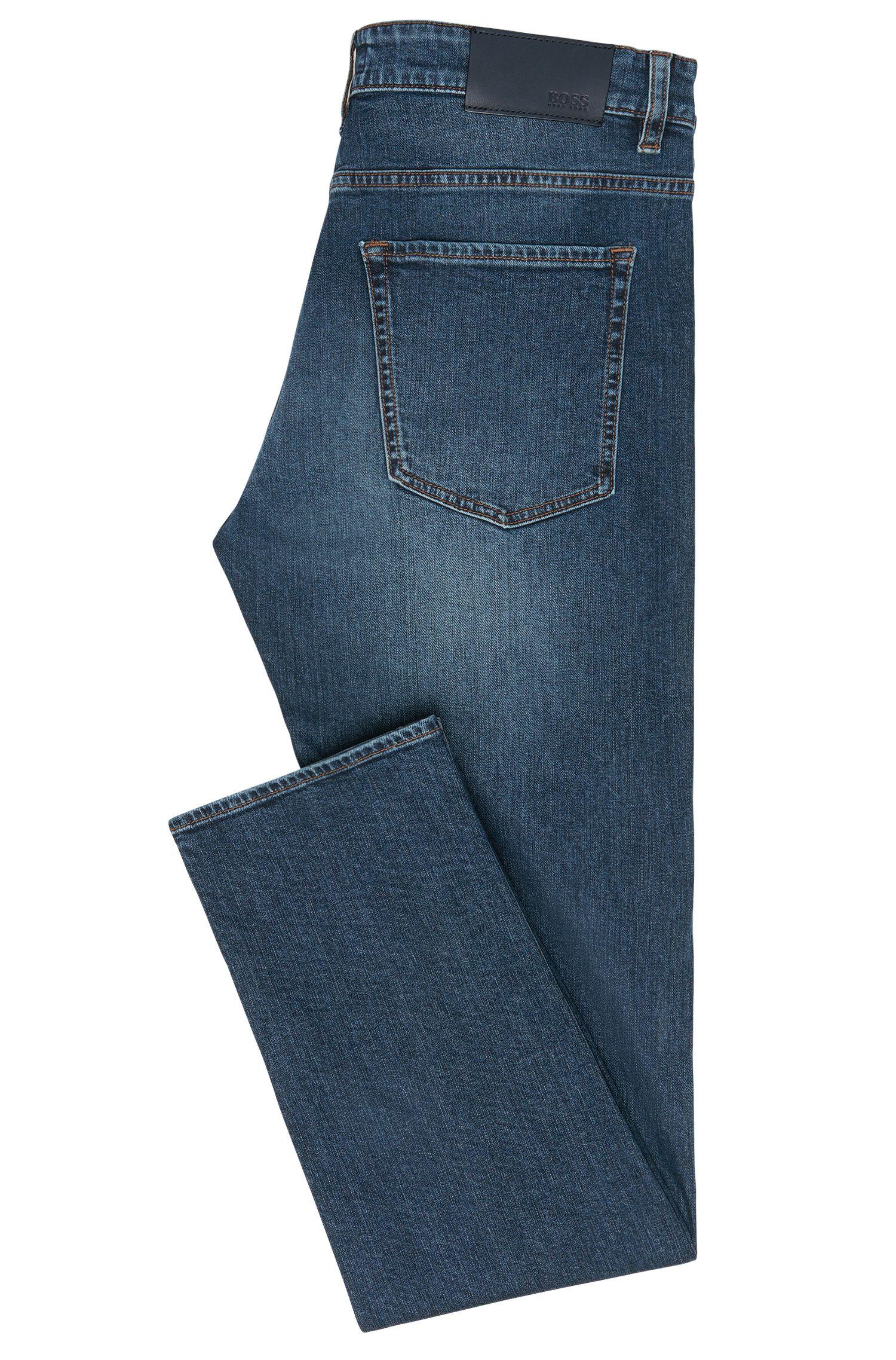 Slim-fit jeans van stretchkatoen: 'Delaware3'