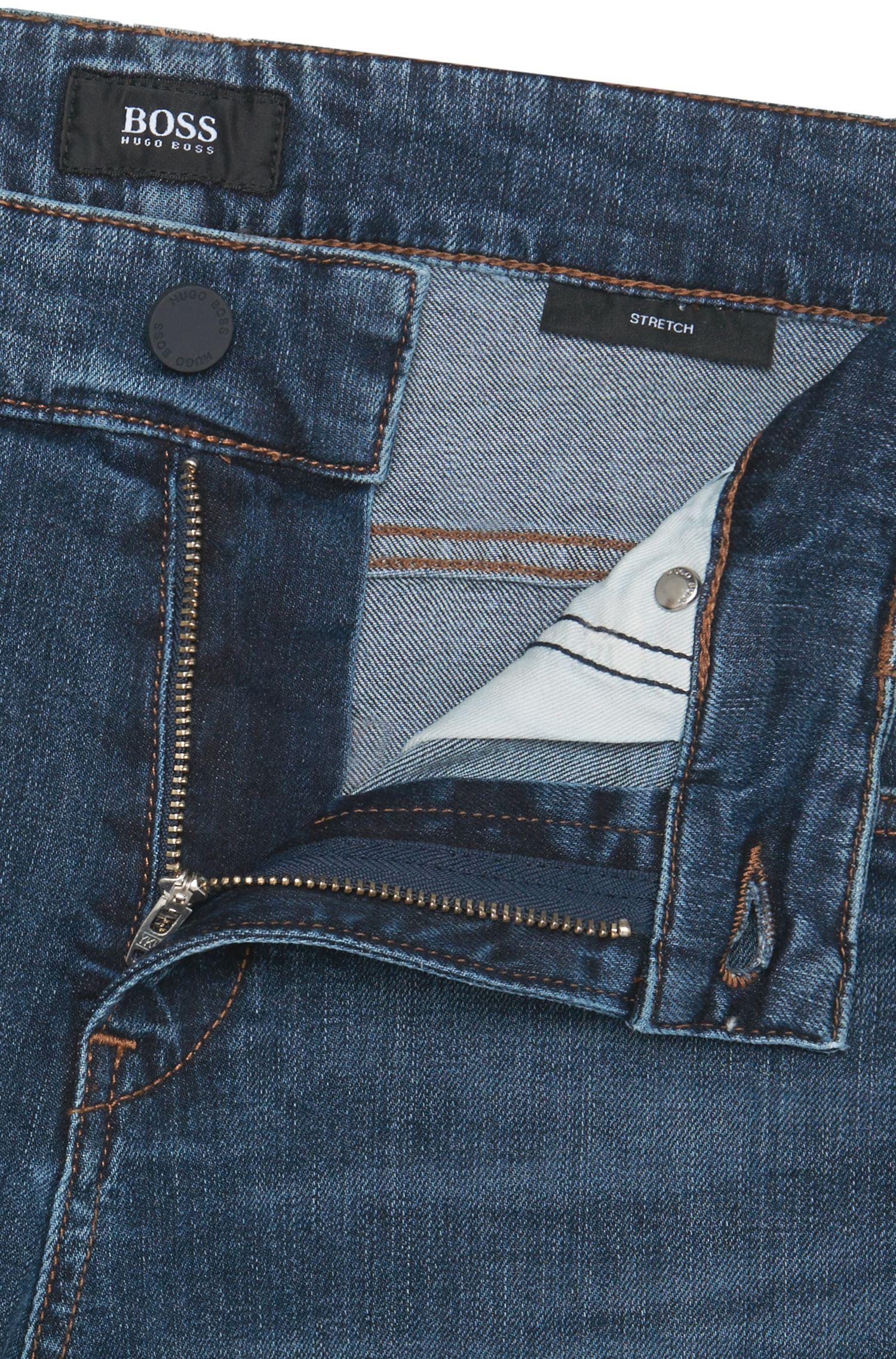 Jeans Slim Fit en coton stretch: «Delaware3»