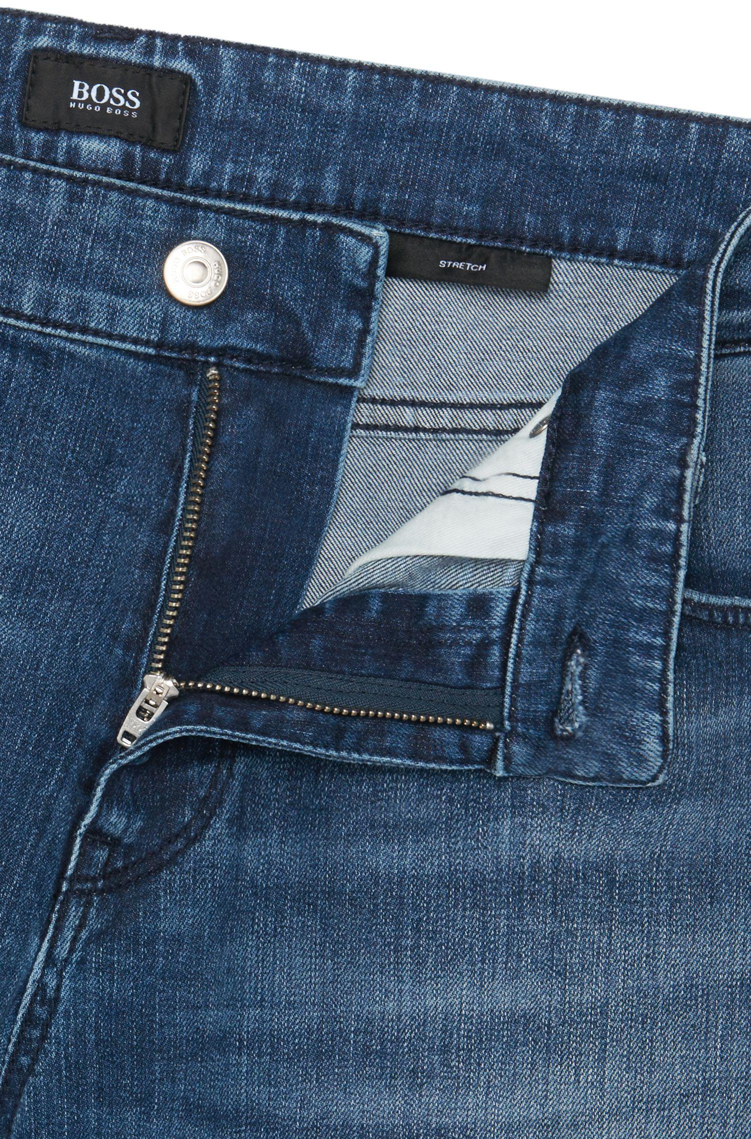 Jeans Regular Fit en coton extensible: «Maine3»