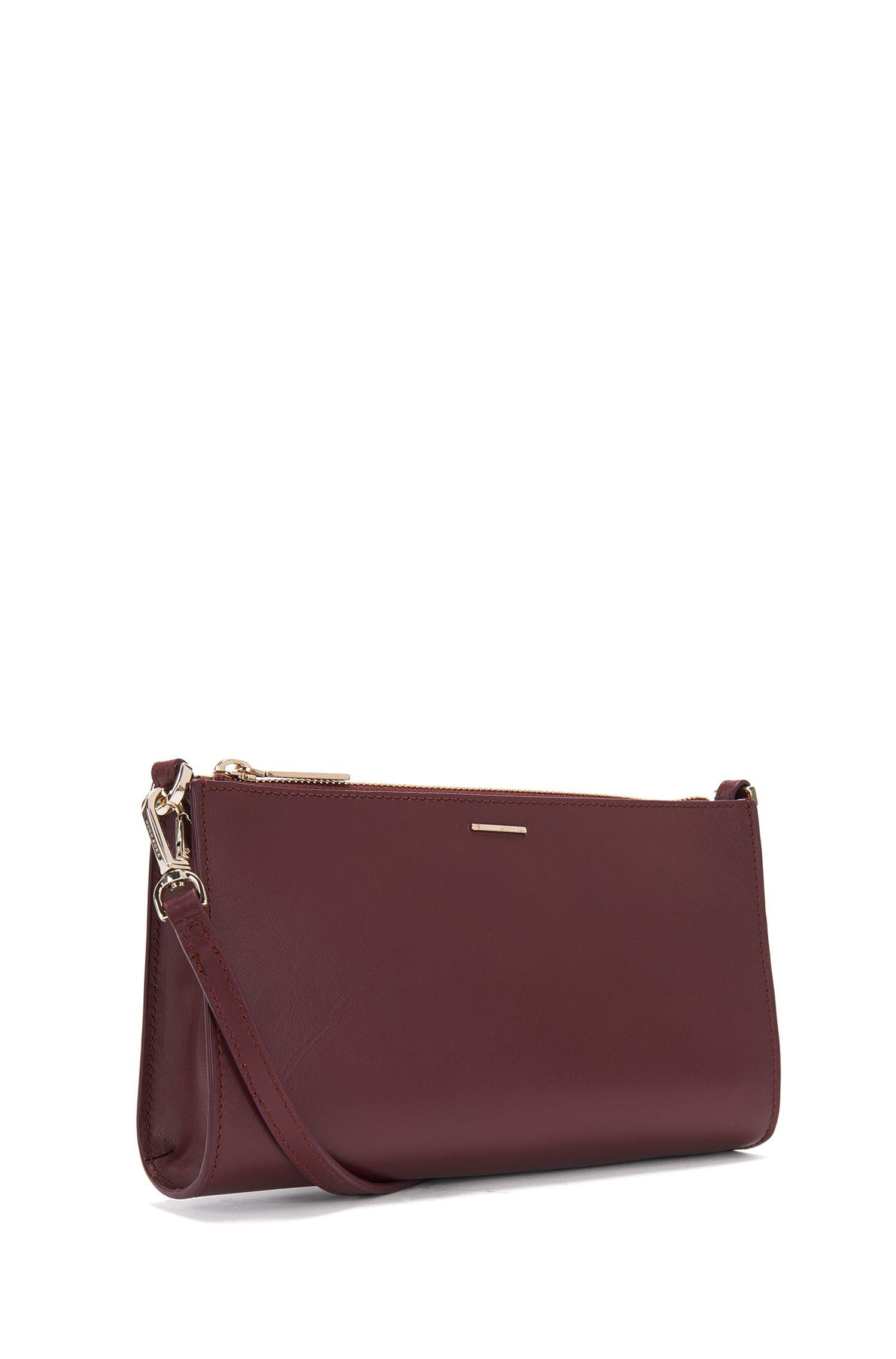 Kosmetiktasche aus Leder mit abnehmbarem Schulterriemen: 'Staple Mini Bag-M'