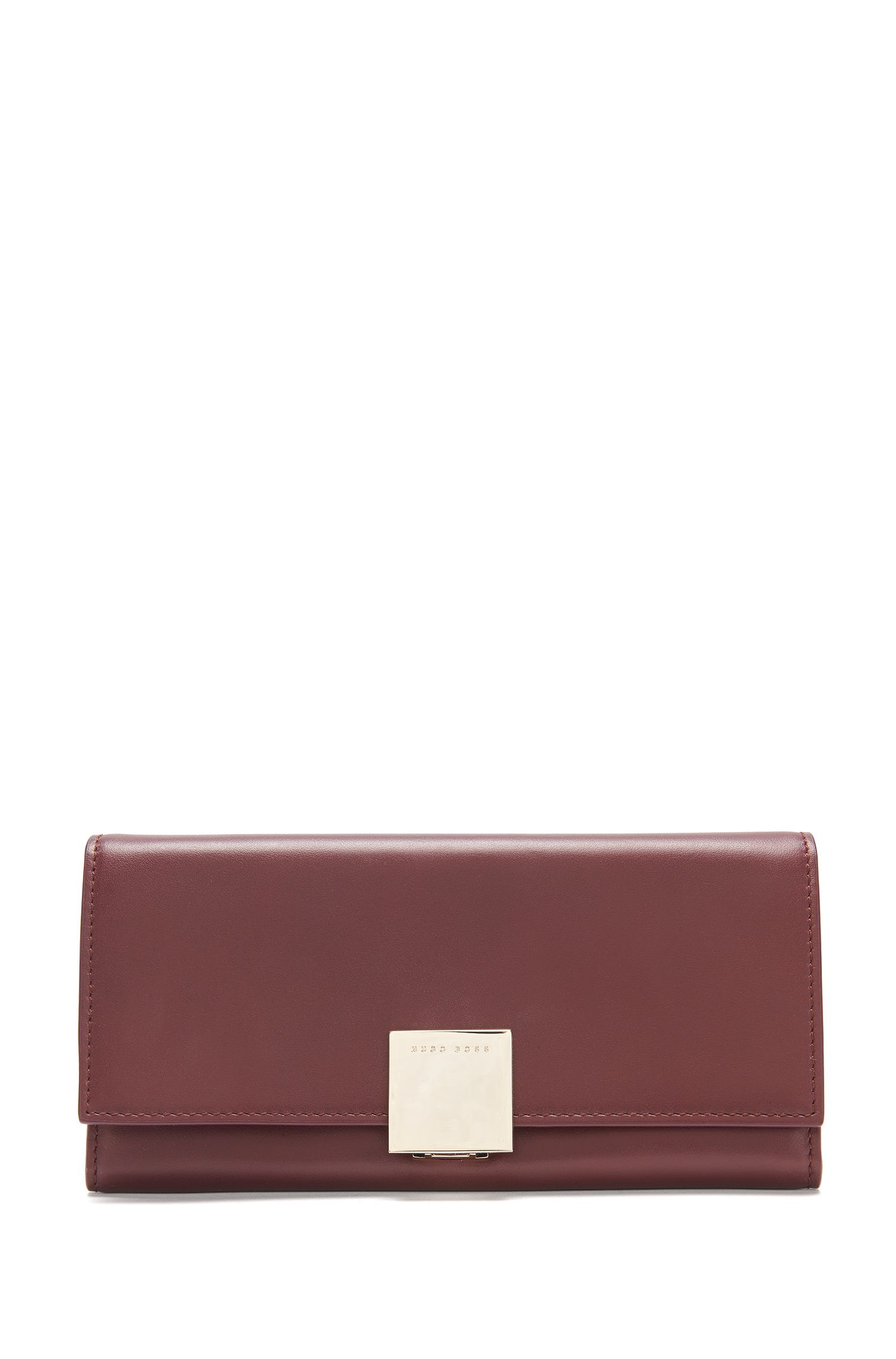 Leather wallet with decorative fastening: 'Munich Continental-M'