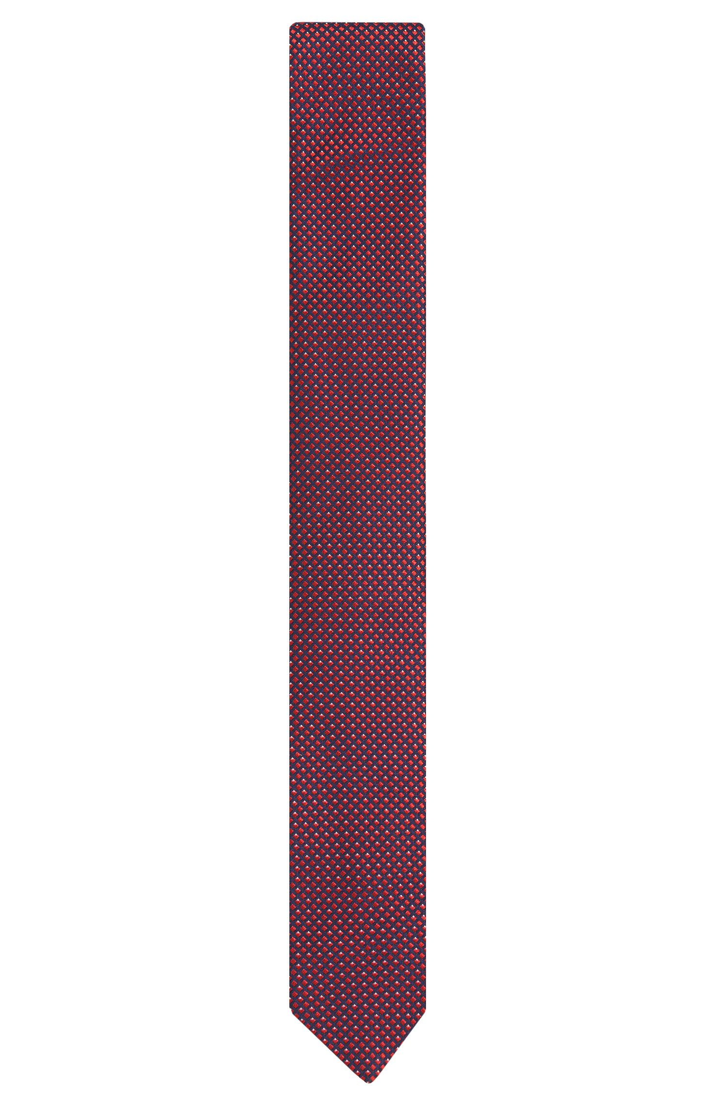 Cravate en soie à motif fin: «Tie6cm»