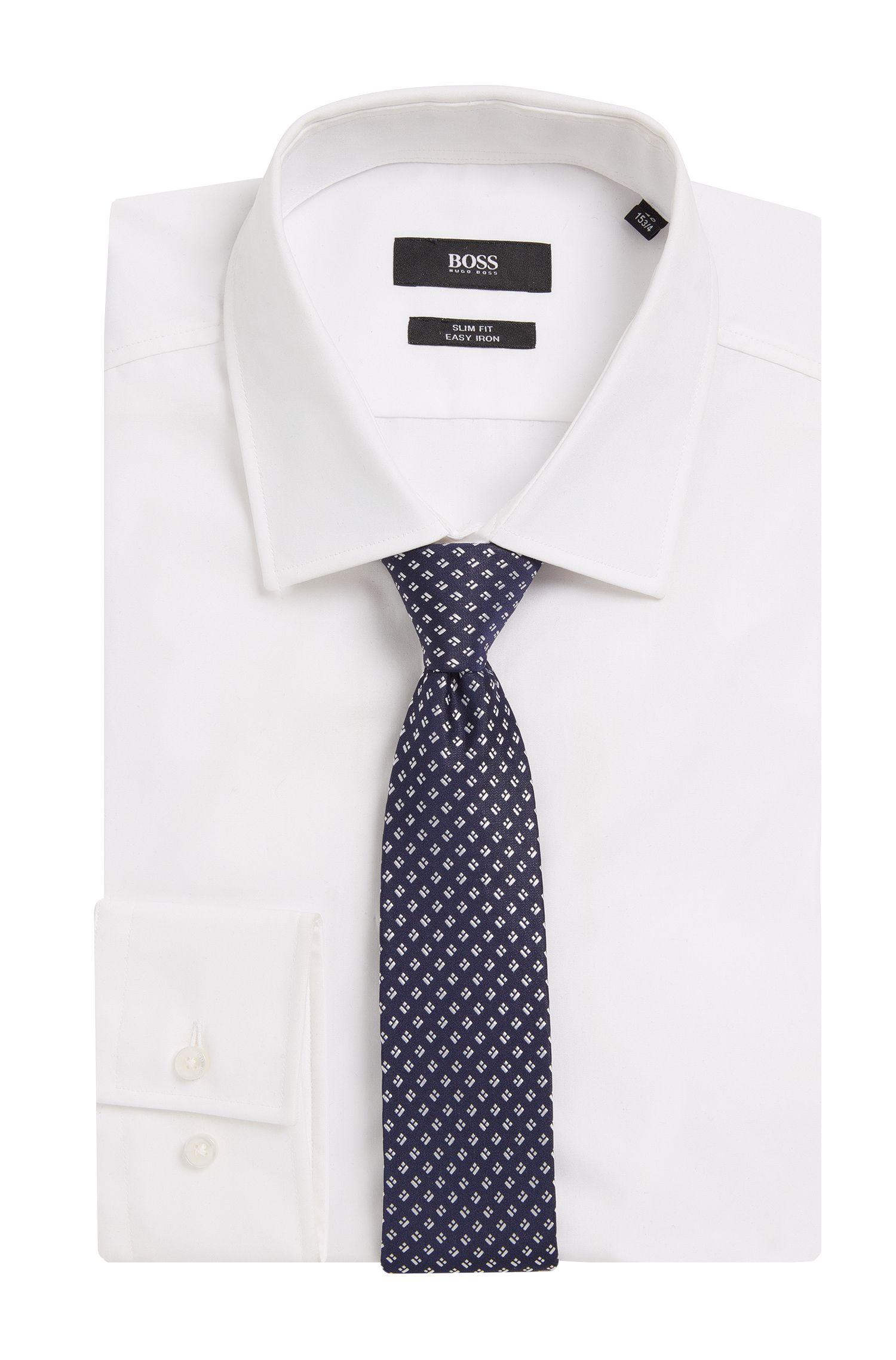 Cravate en pure soie à motif: «Tie6cm»