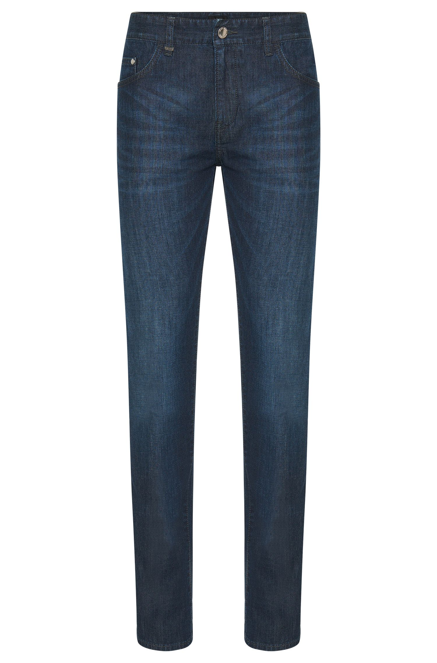 Jeans Slim Fit en coton stretch : « Delaware3-1 »