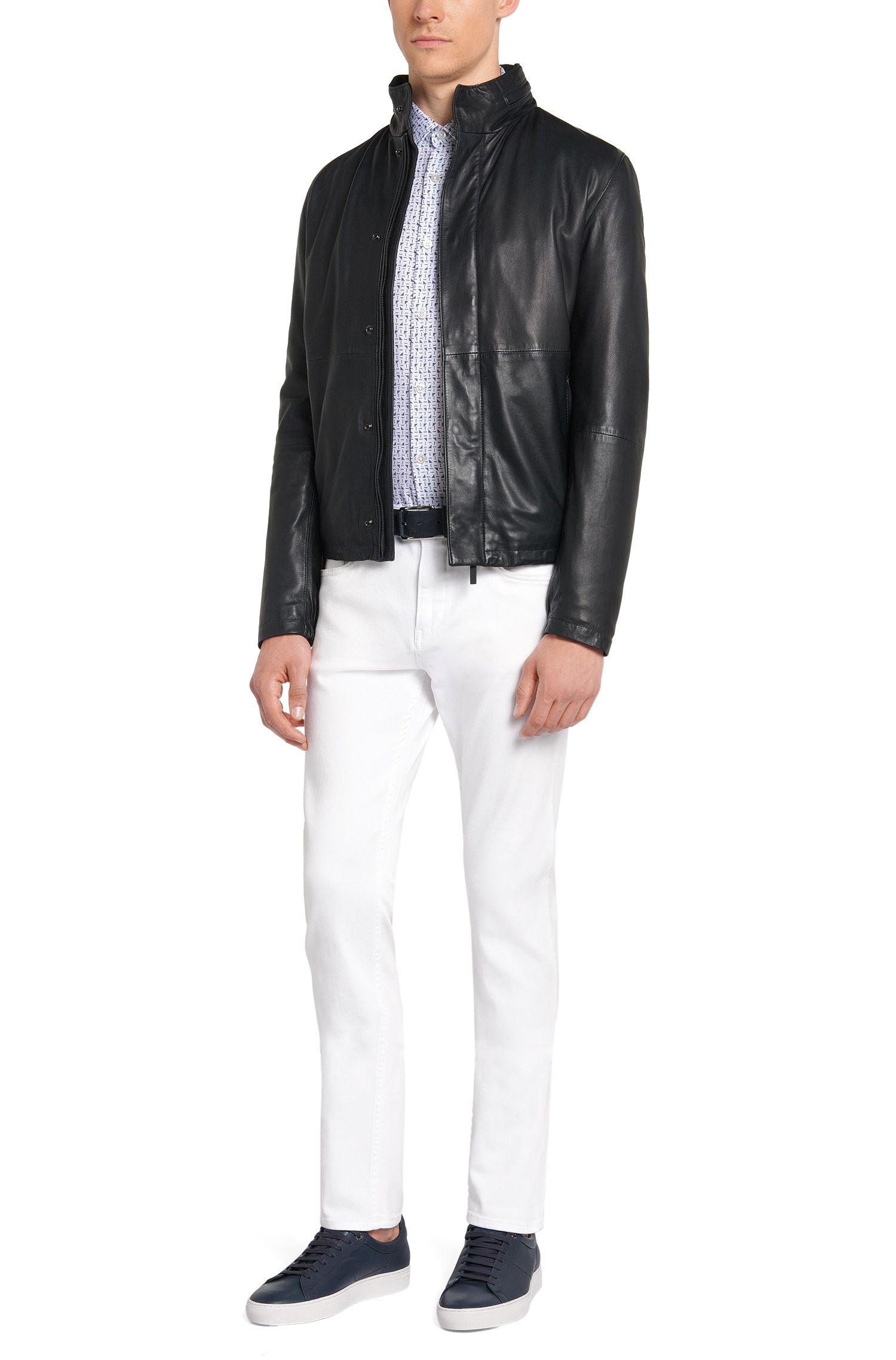 Jeans Slim Fit en coton stretch imperméable: «Delaware3»