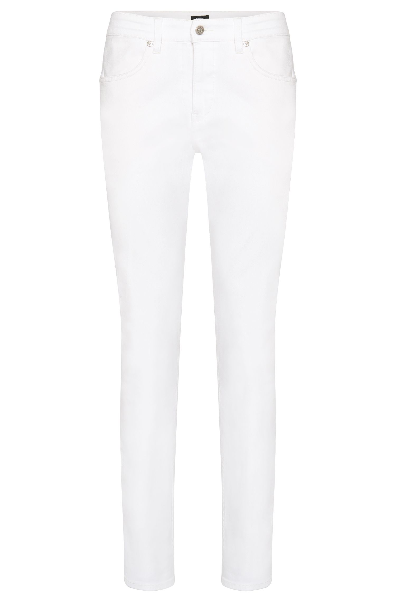 Slim-fit jeans in water-repellent stretch cotton: 'Delaware3'