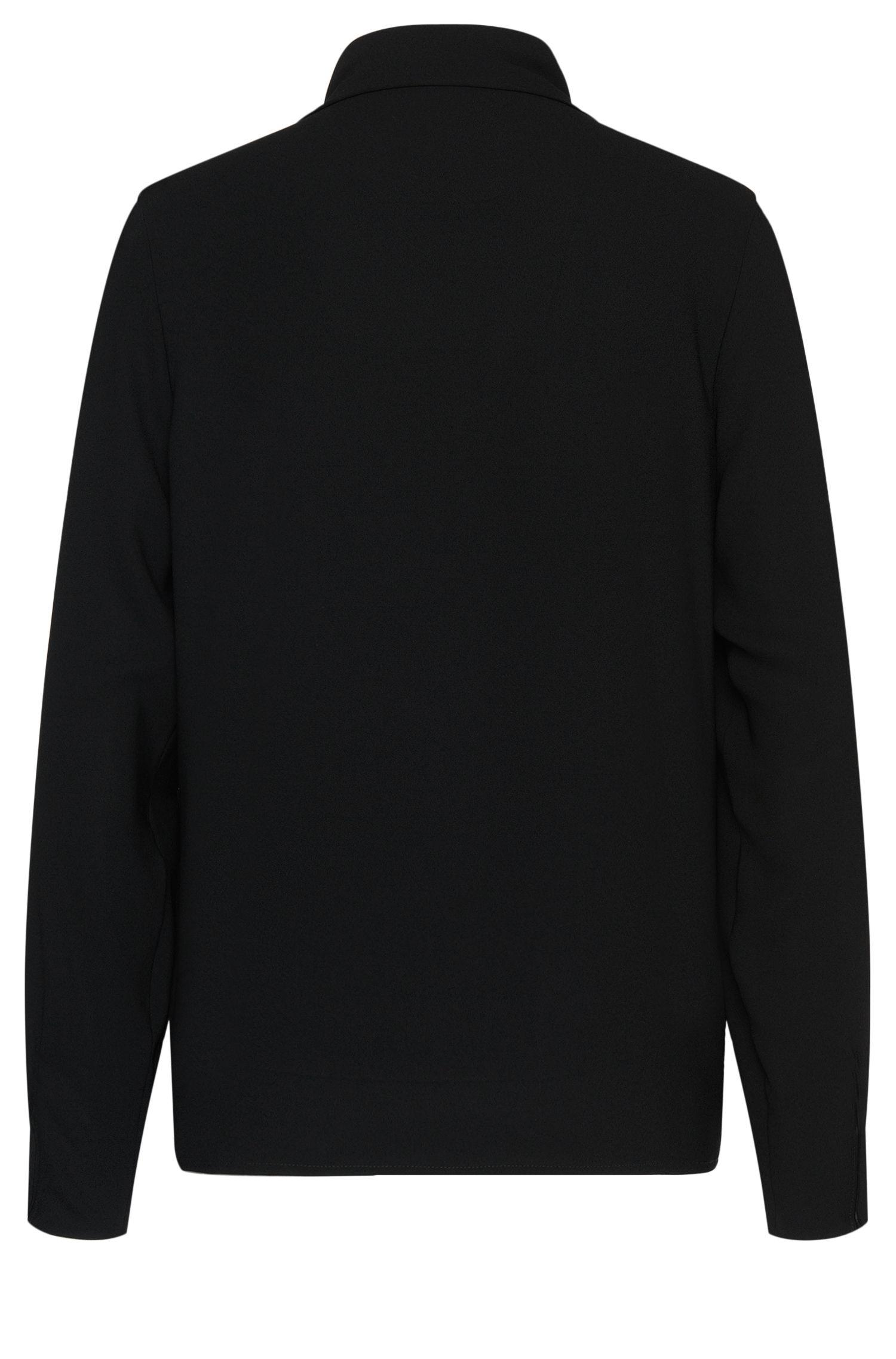 Bluse mit Schluppenkragen: 'Beryna1'