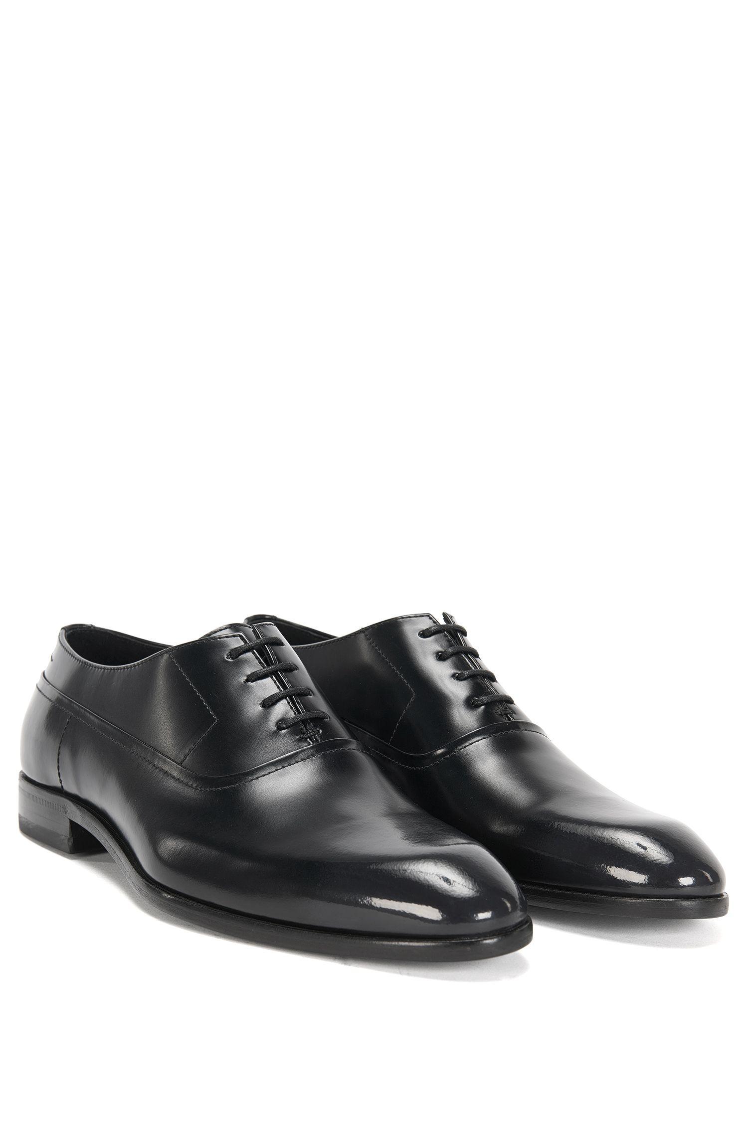 Chaussures à lacets en cuir avec semelle intérieure flexible: «Dressapp_Oxfr_bo»