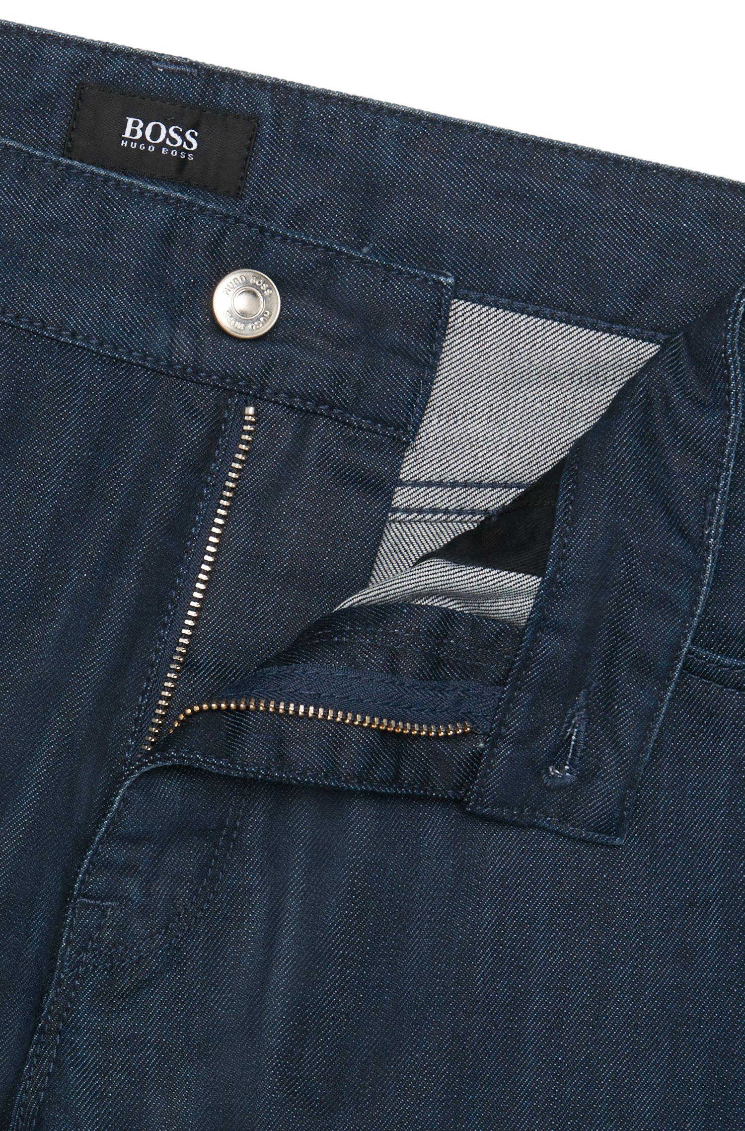 Regular-fit jeans van zuivere katoen: 'Maine3'