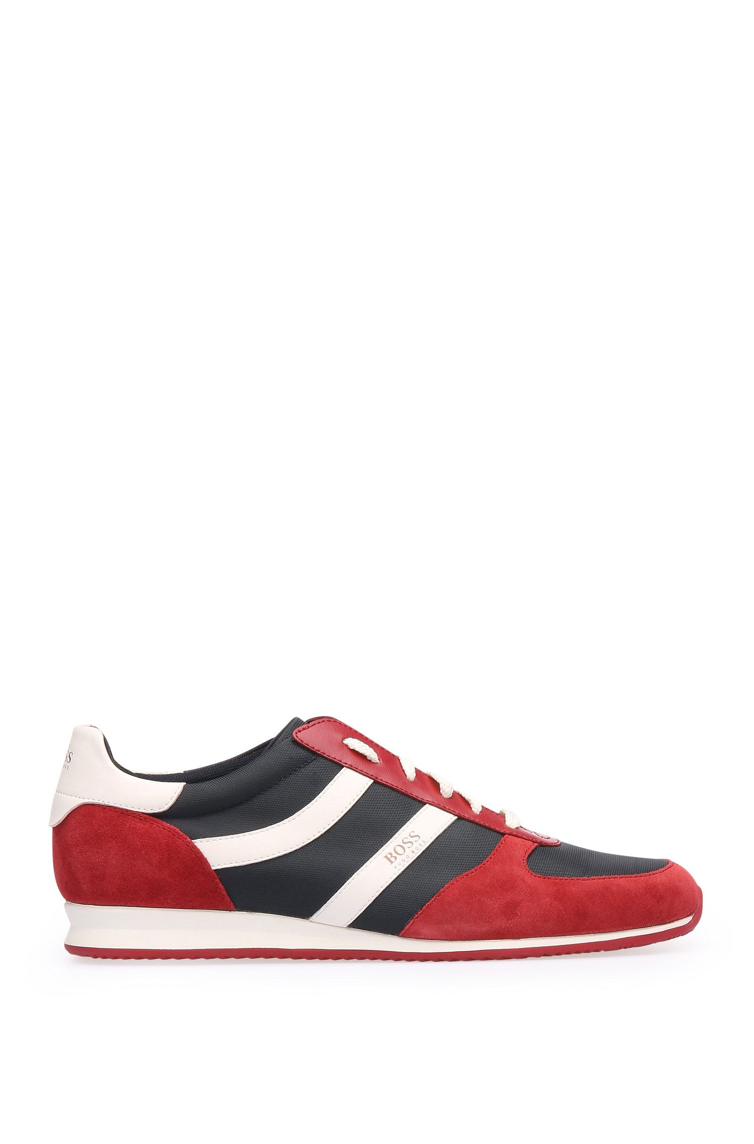Trainers in leather and textile: 'OrlandRunnmxny'