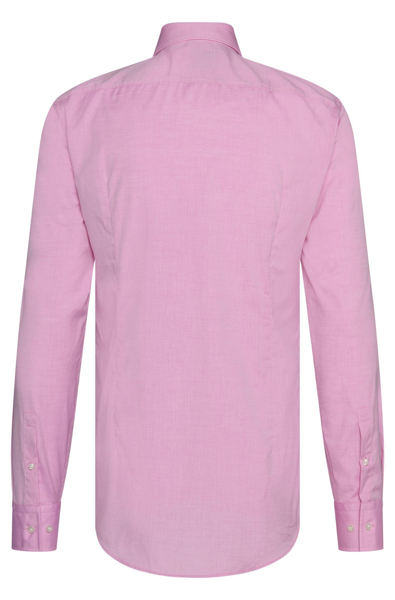Gemakkelijk te strijken, slim-fit overhemd van katoen: 'Jason'