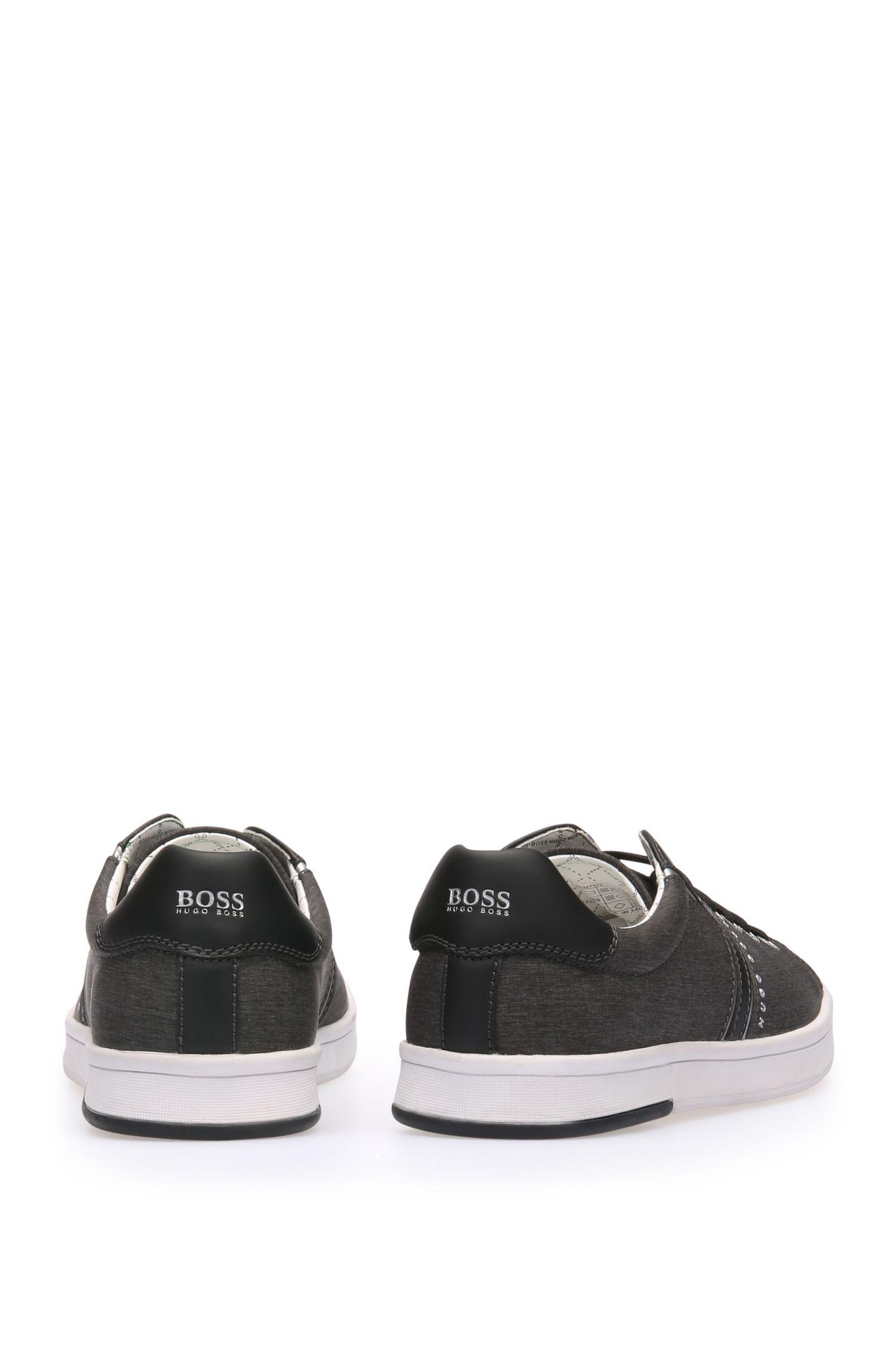 Sneakers aus gewebtem Textil und Leder: ´RayAdv_Tenn_nych`