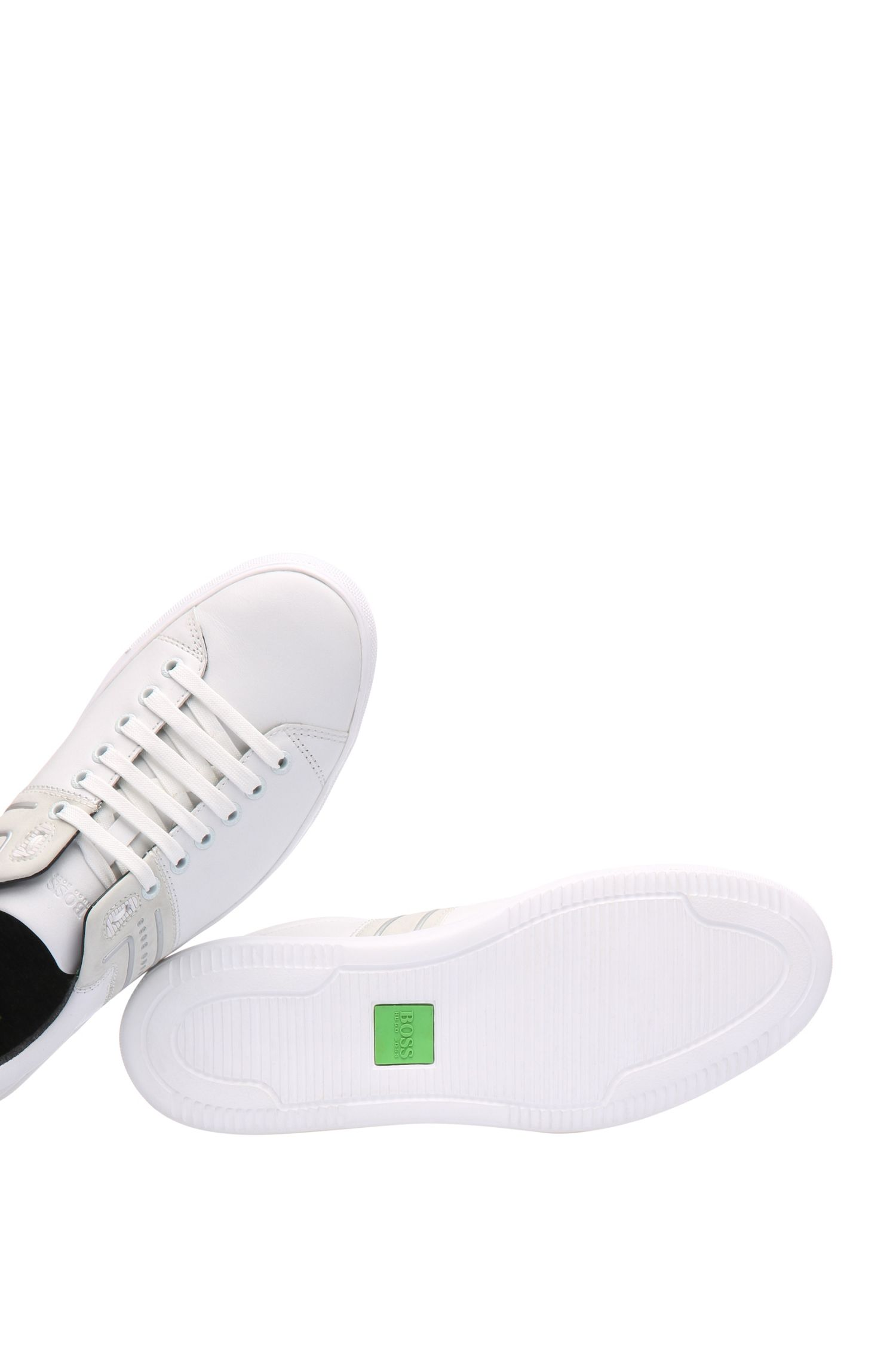 Low Top Sneakers aus Leder-Mix: ´Enlight_Tenn_lt`