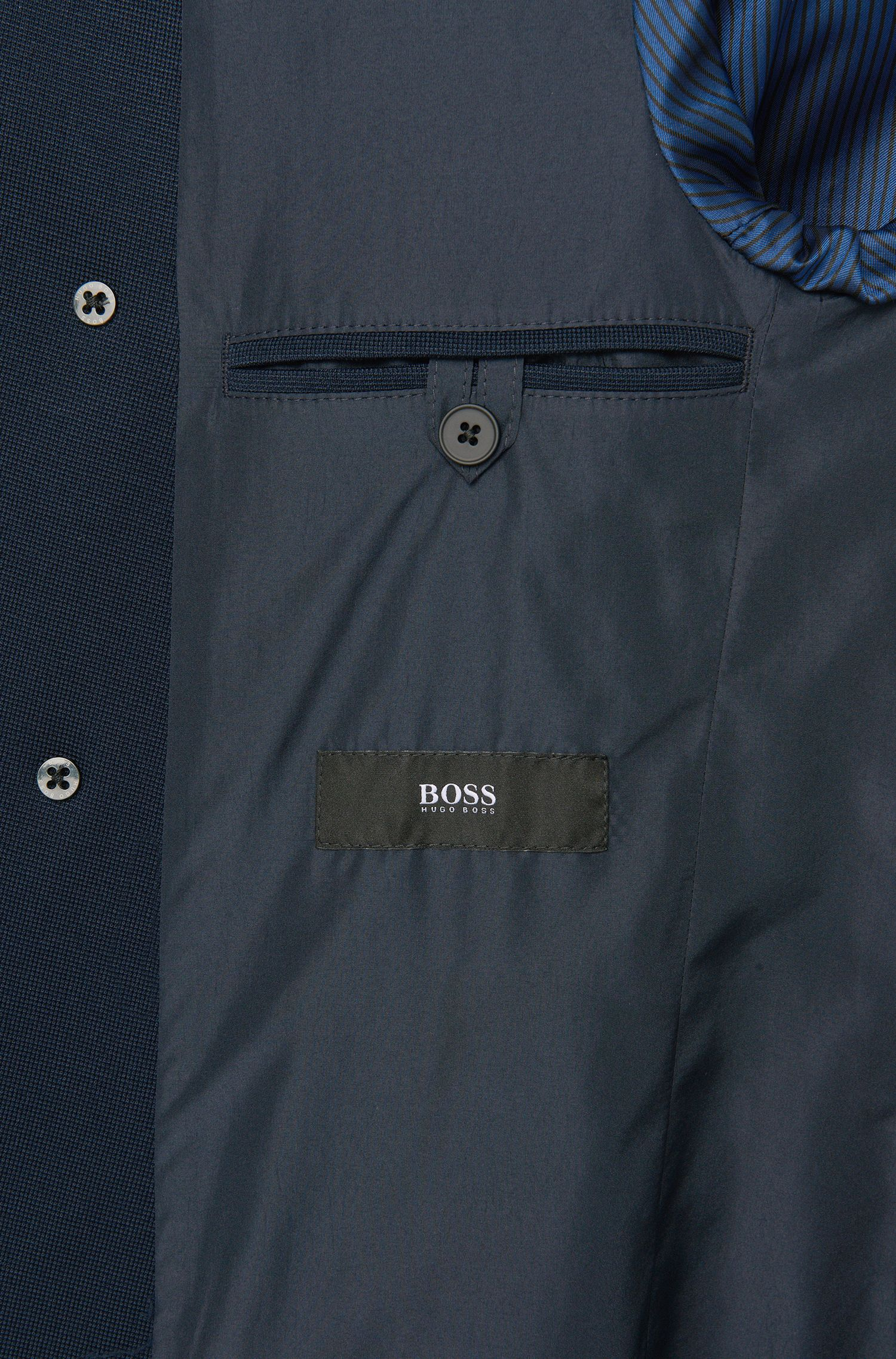 Veste de costume Extra Slim Fit en jersey de viscose mélangée: «Robbin»