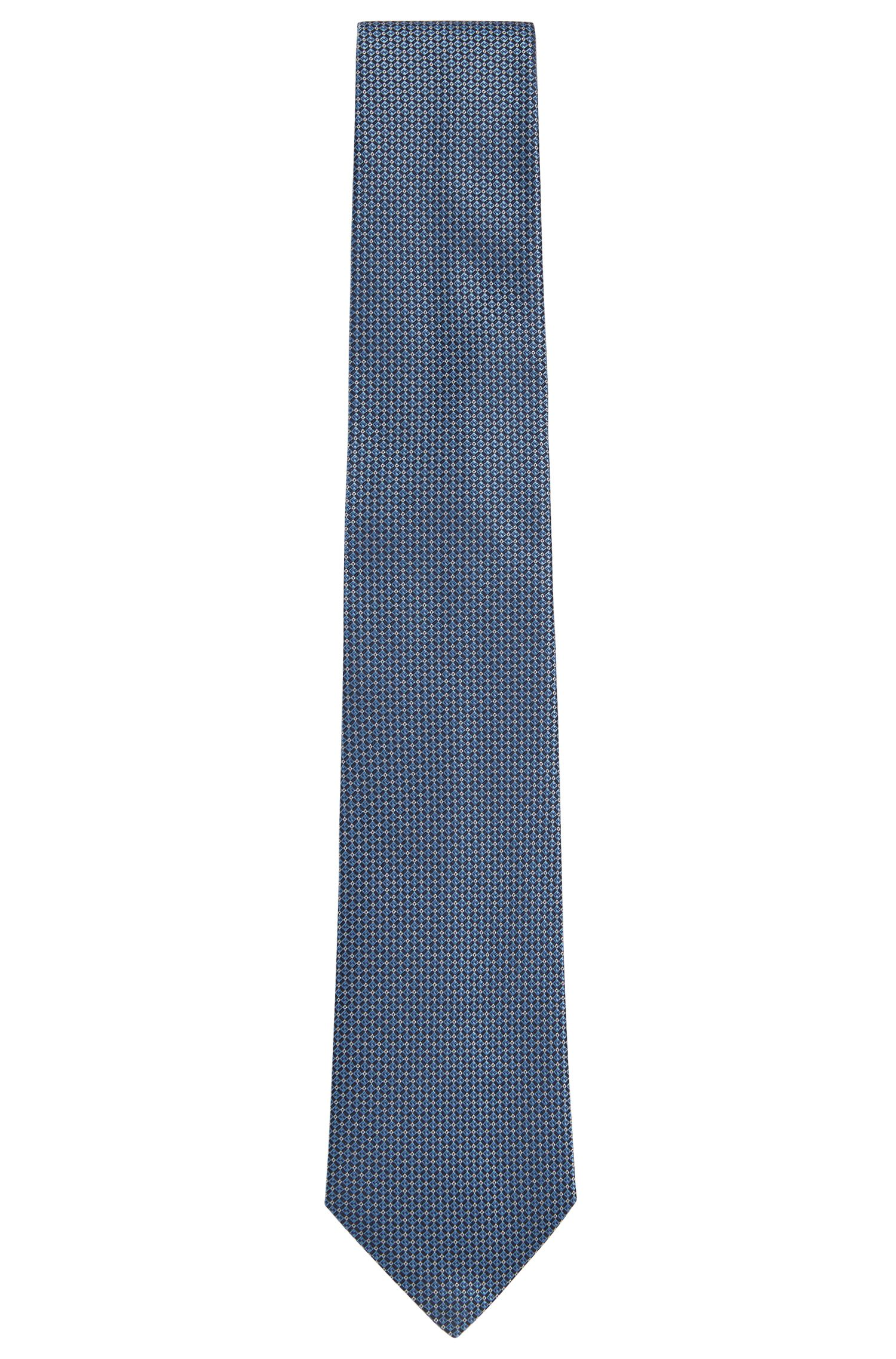 Finely patterned Tailored silk tie: 'T-Tie 7.5 cm'