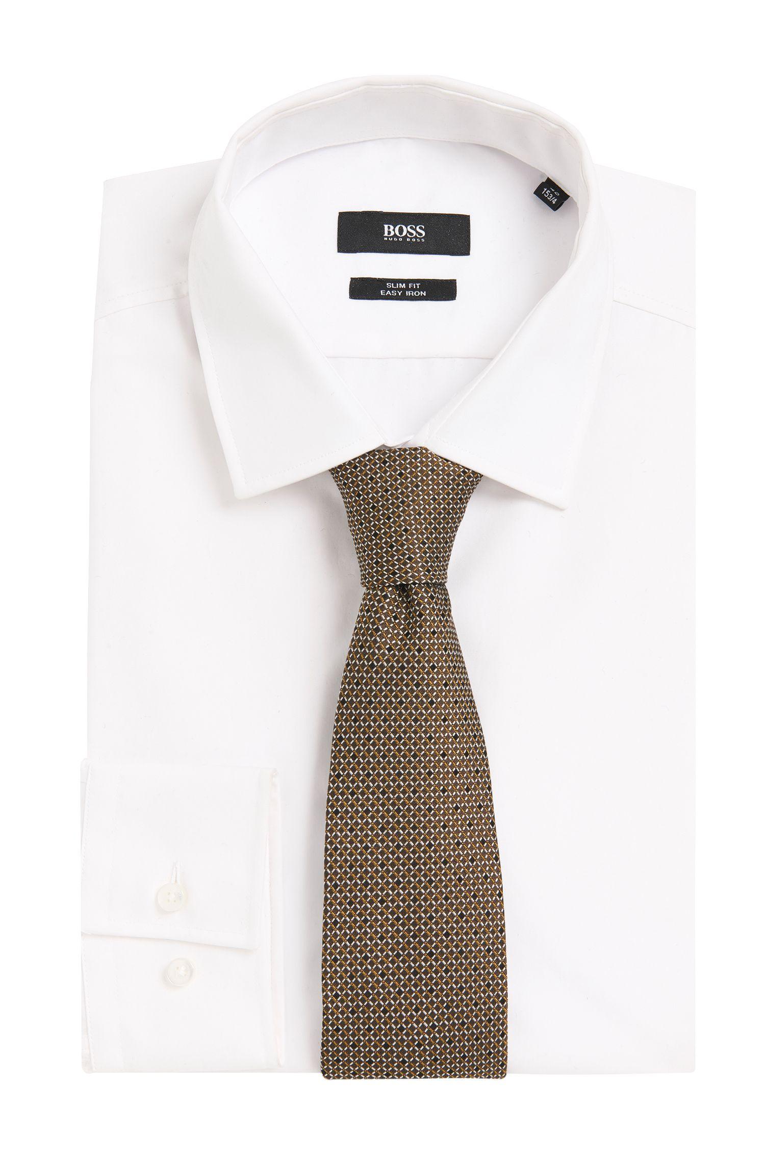 Cravate en soie Tailored à motif intégral: «T-Tie 7,5cm»