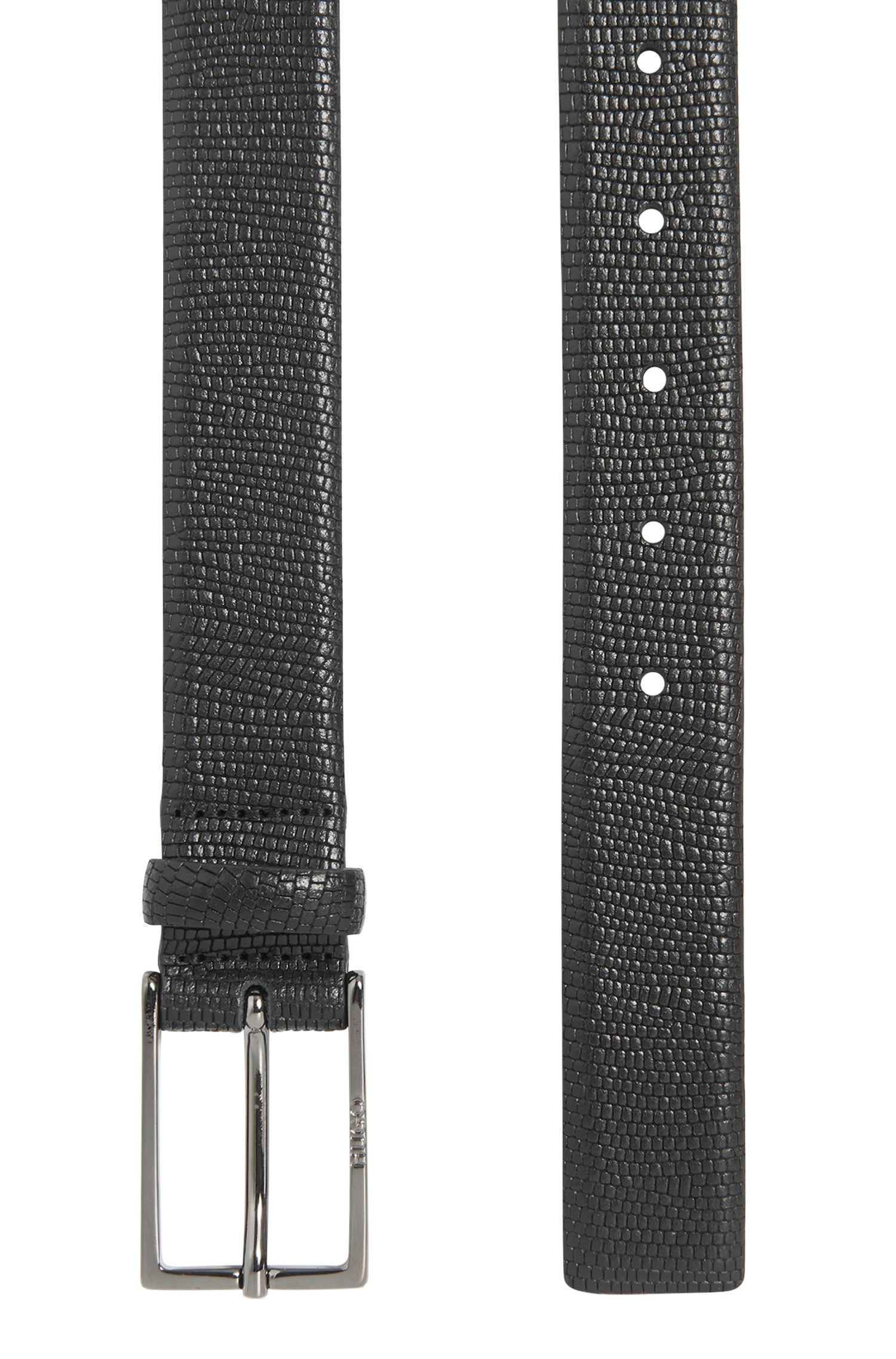 Gürtel aus geprägtem Leder: 'Ganti_Sz30_Item'