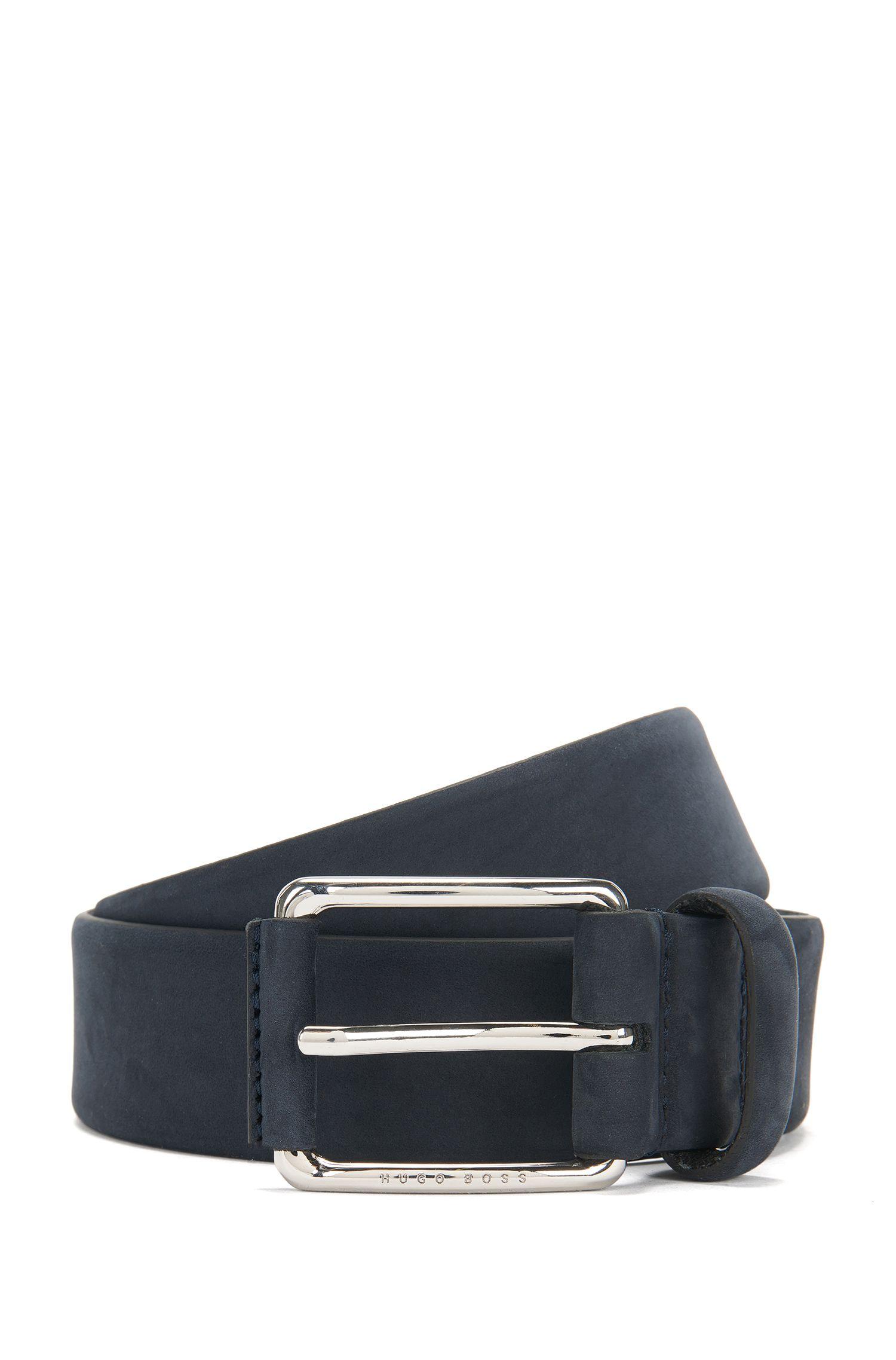 Belt in nubuck leather: 'Catios_Sz35_nupl'