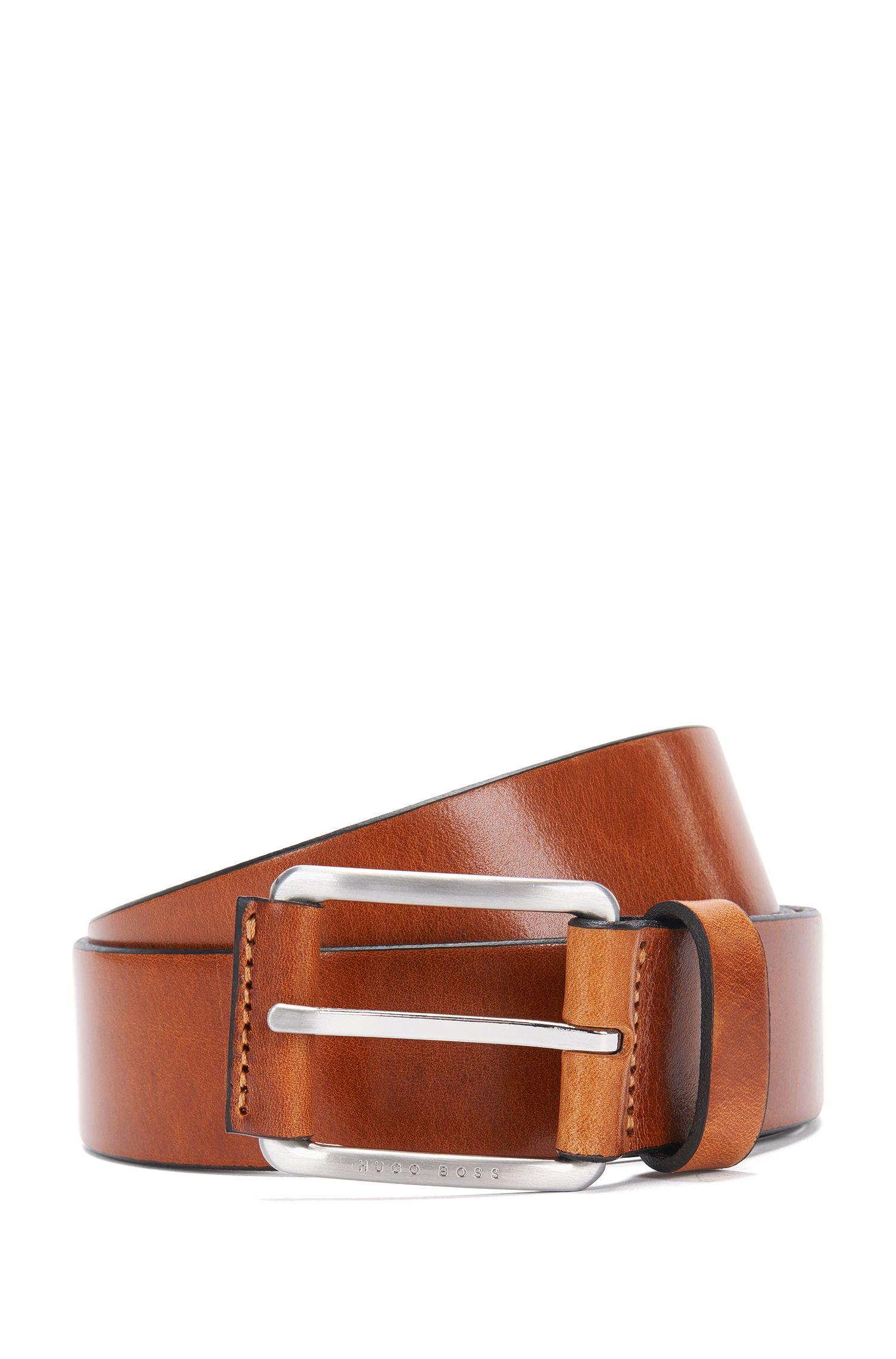 Cinturón de piel con ribete en la hebilla: 'Scar_Sz35_ltpl'