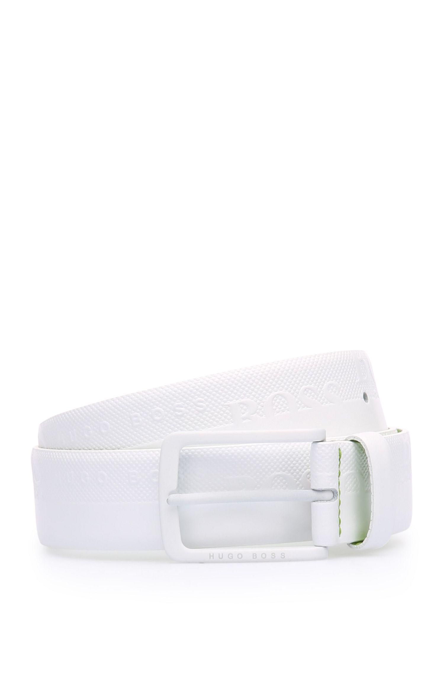 Ledergürtel mit Logo-Prägung von BOSS Green