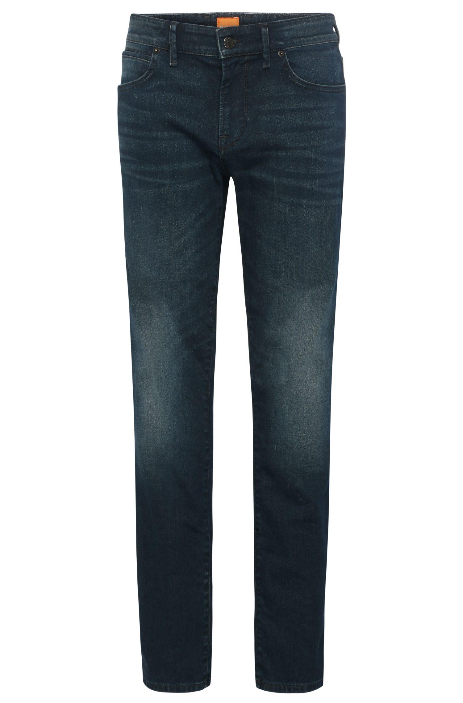 Jeans Regular Fit en coton stretch délavé: «Orange24Barcelona»