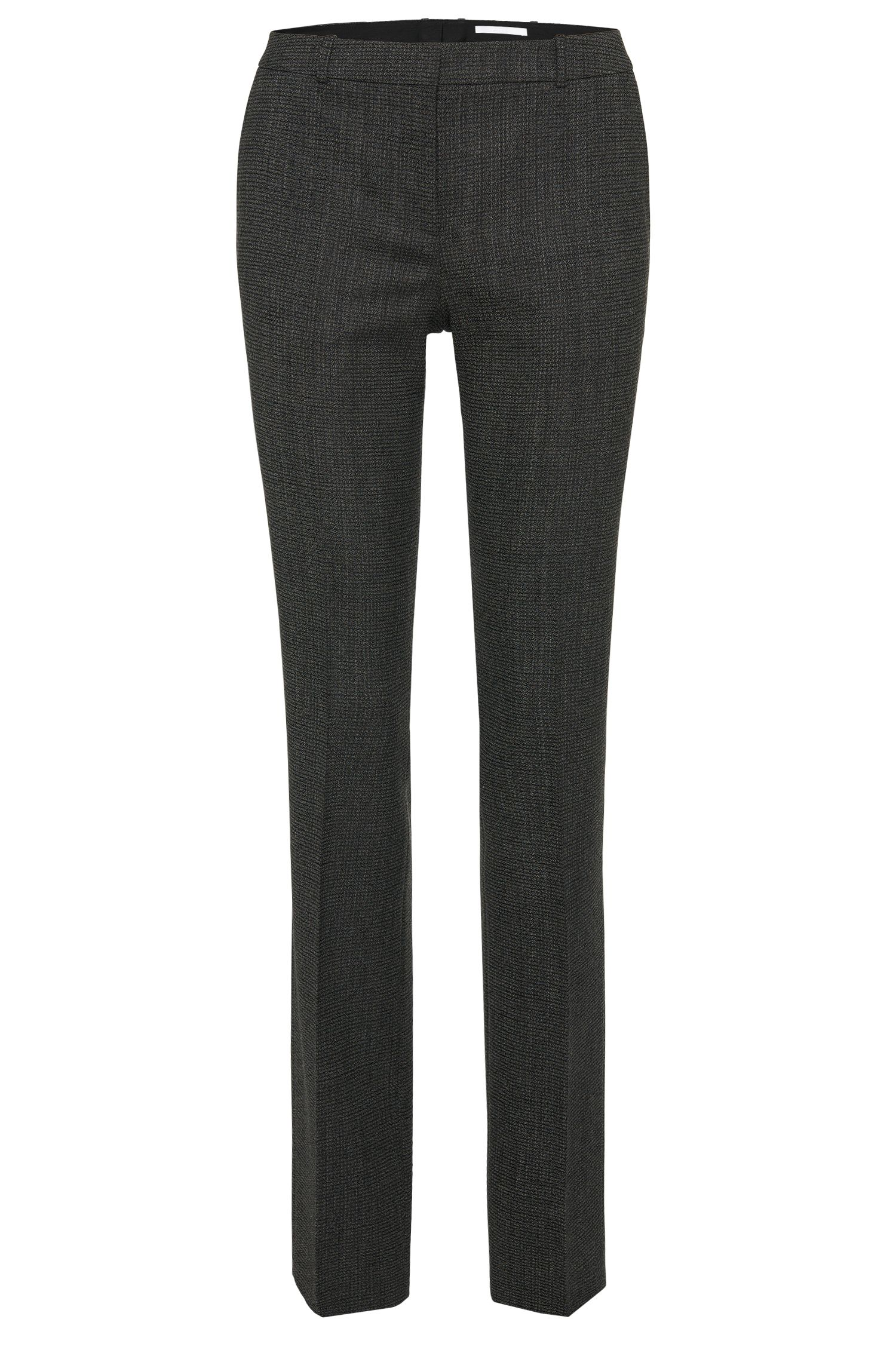 Patterned trousers in stretch new wool: 'Tamea1'