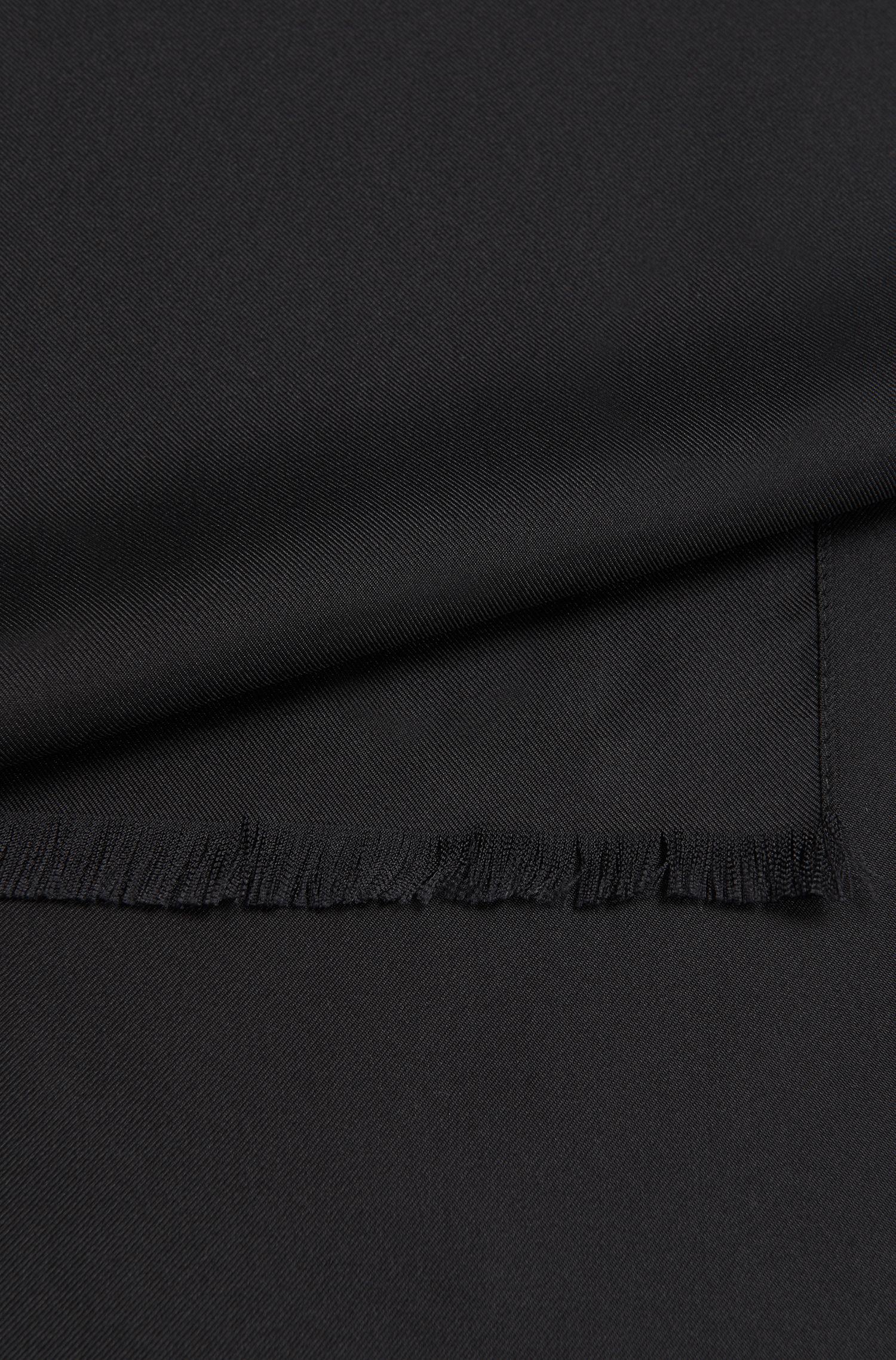 Unifarbener Schal aus Seide: 'Scarf cm 140x35'